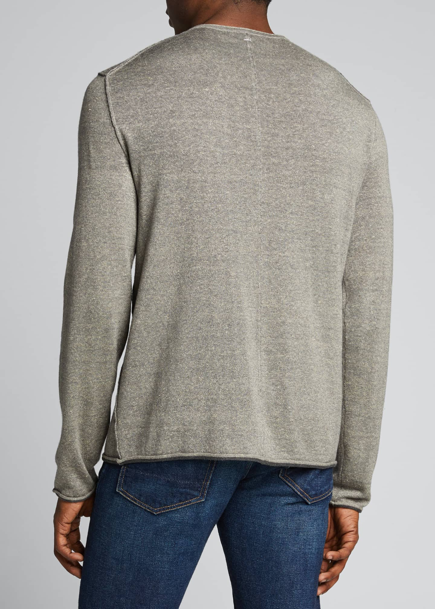 Image 2 of 5: Men's Trent Extrafine Crewneck Sweater