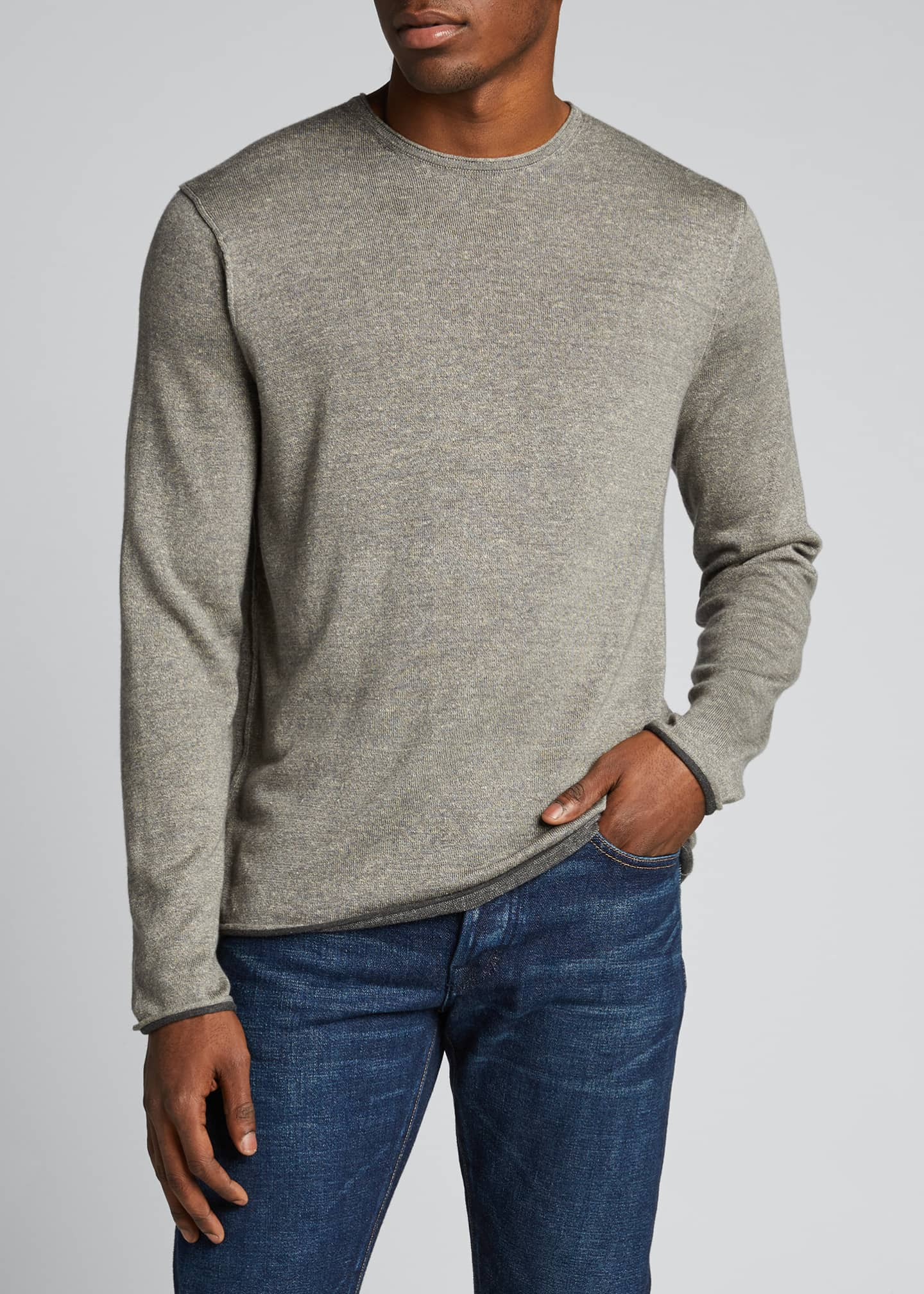 Image 3 of 5: Men's Trent Extrafine Crewneck Sweater