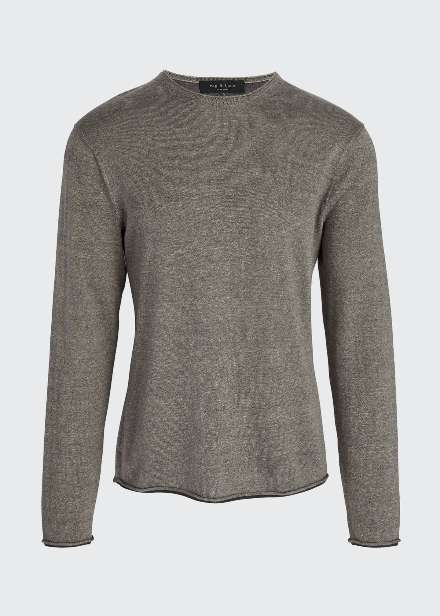 Image 5 of 5: Men's Trent Extrafine Crewneck Sweater