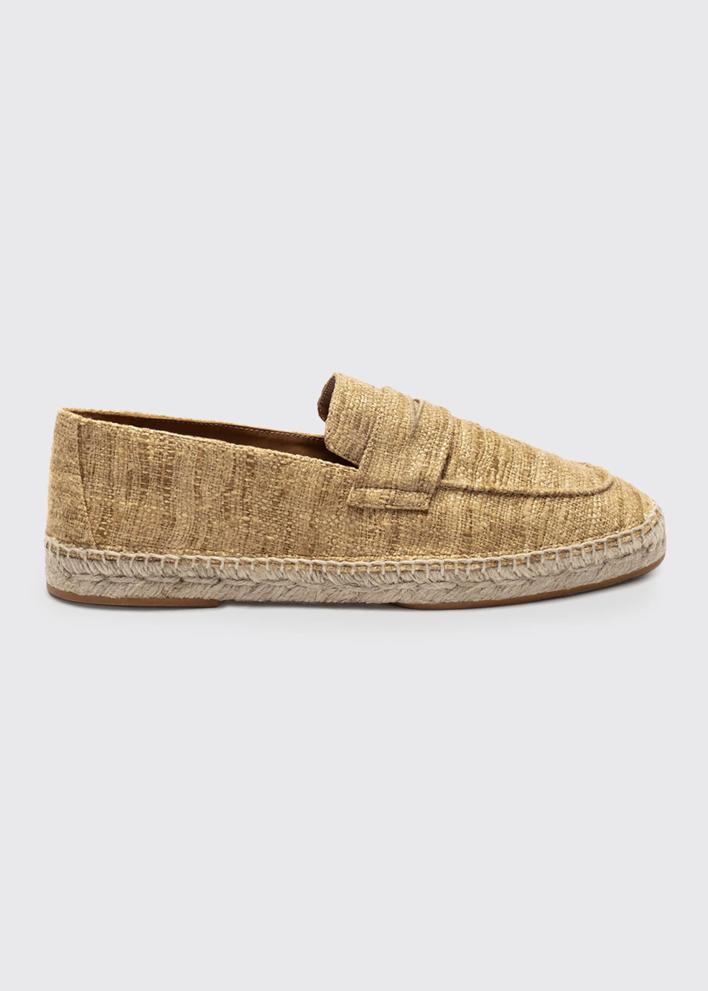 Bougeotte Silk Slip-On Espadrille Loafers