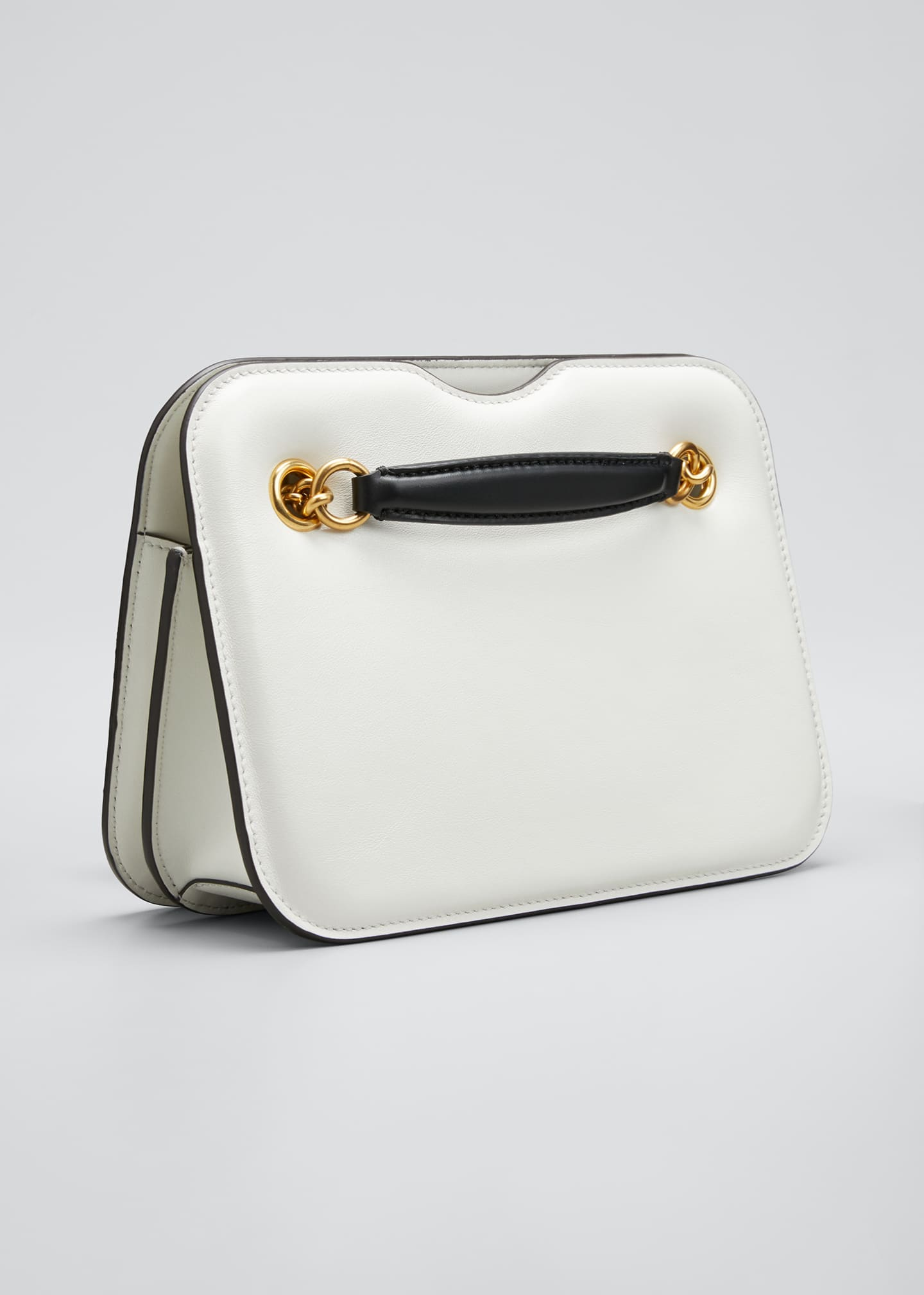 Image 3 of 5: Karligraphy Glacier Calf Pocket Shoulder Bag