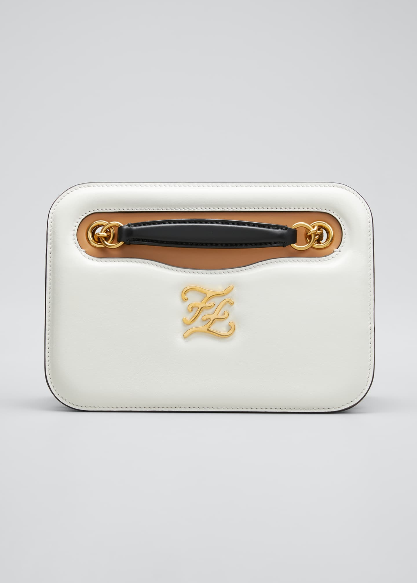 Image 1 of 5: Karligraphy Glacier Calf Pocket Shoulder Bag