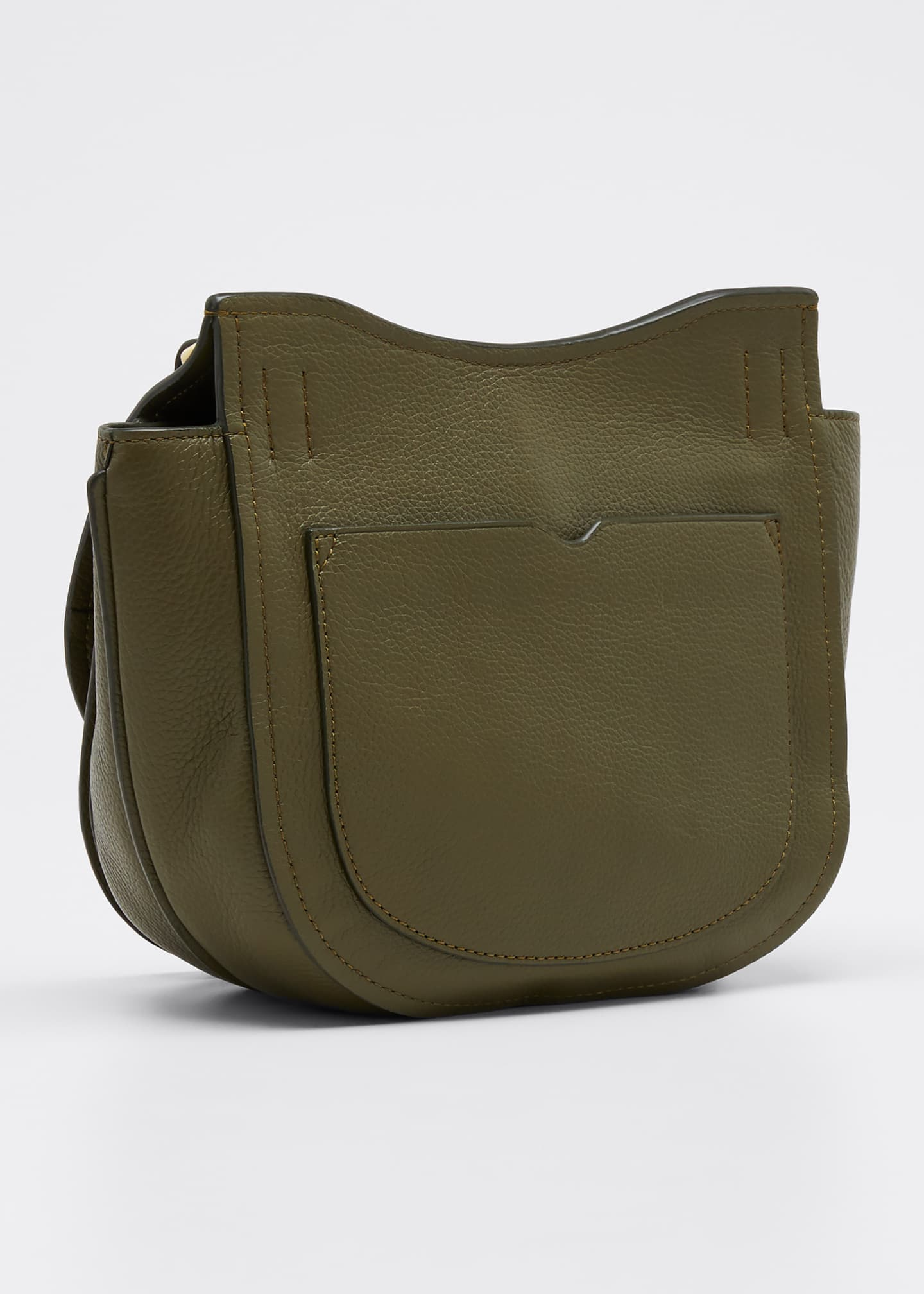 Image 3 of 5: Alix Hunter Leather Shoulder Bag