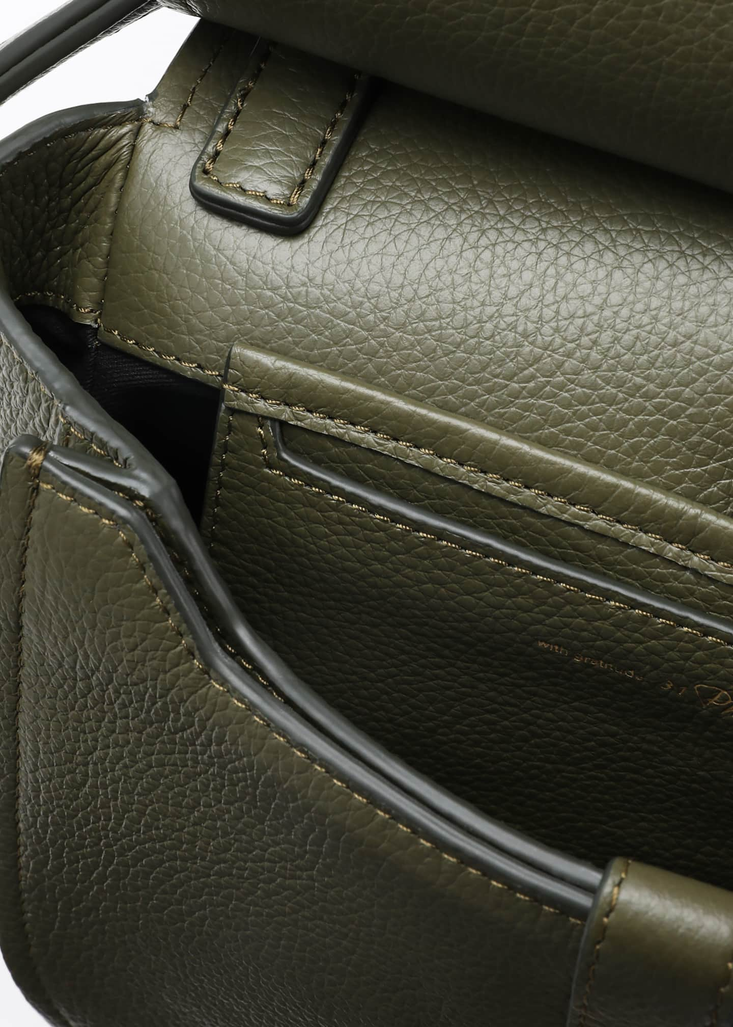 Image 4 of 5: Alix Hunter Leather Shoulder Bag