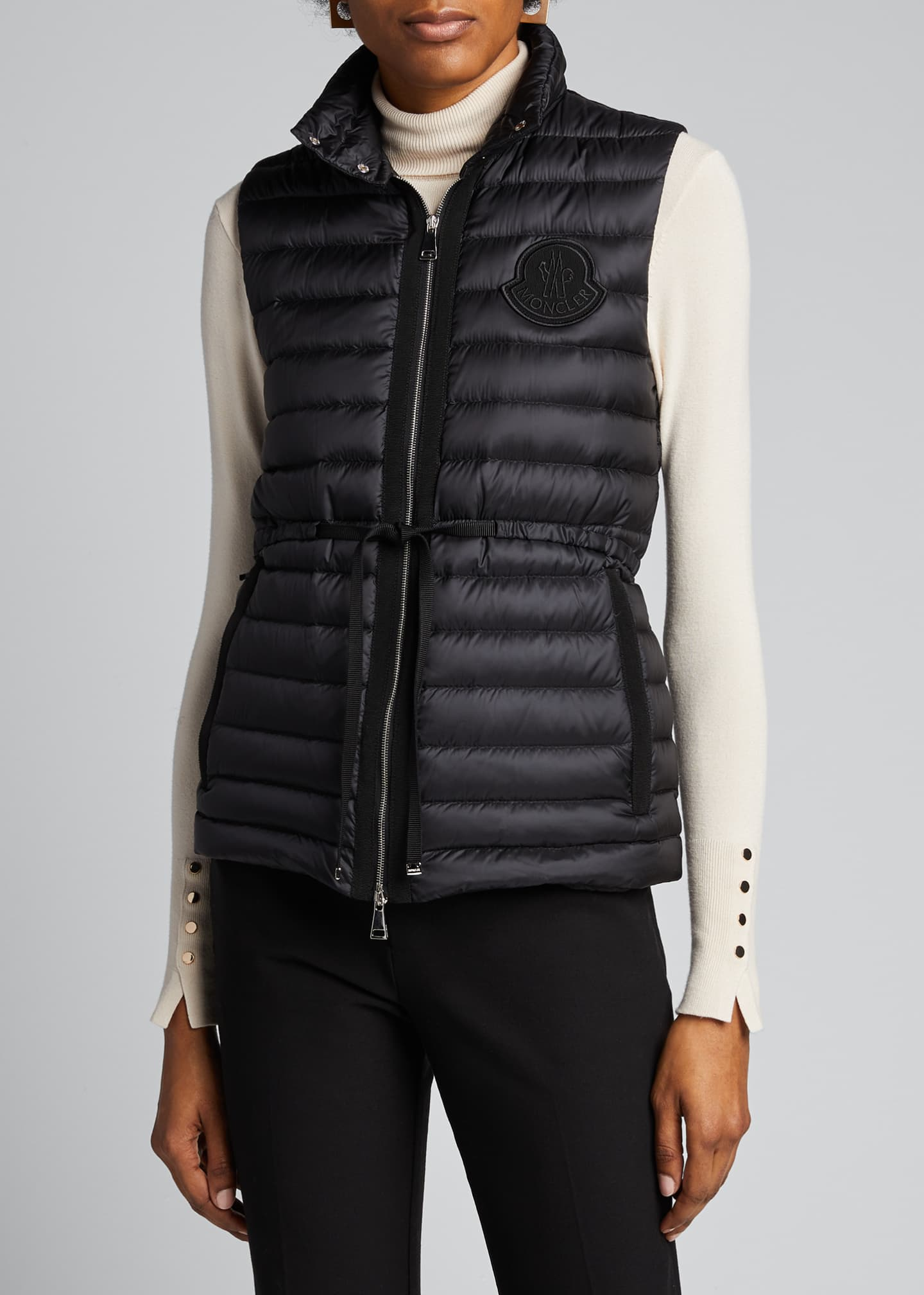 Image 3 of 5: Azur Adjustable Puffer Vest