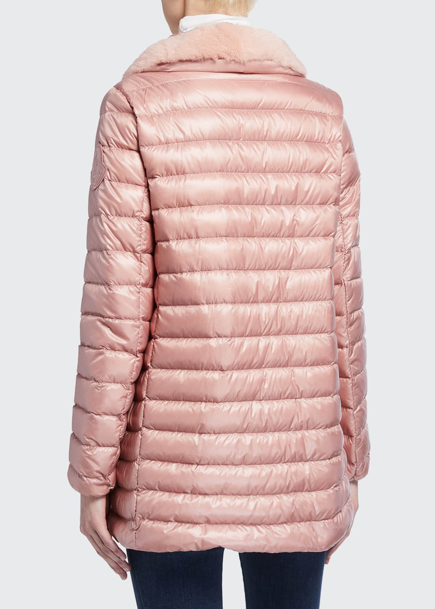Image 3 of 5: Soufre Long Puffer Coat