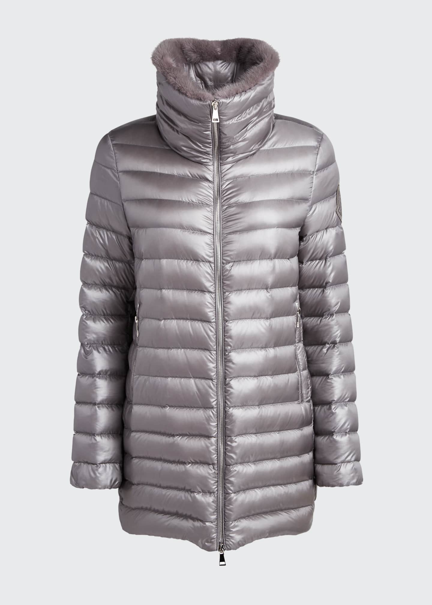 Image 5 of 5: Soufre Long Puffer Coat