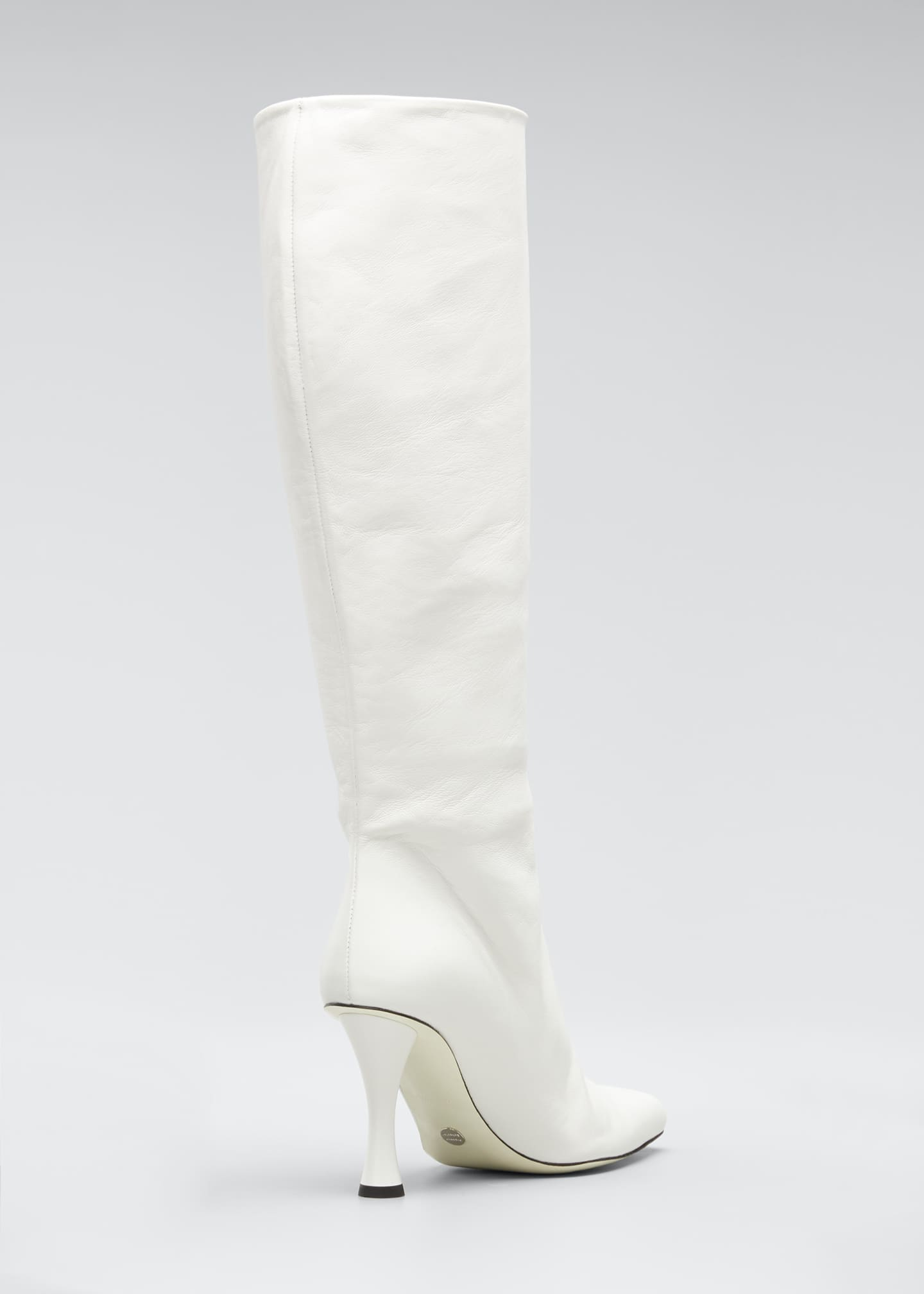 Image 2 of 3: Vase Leather Knee Boots