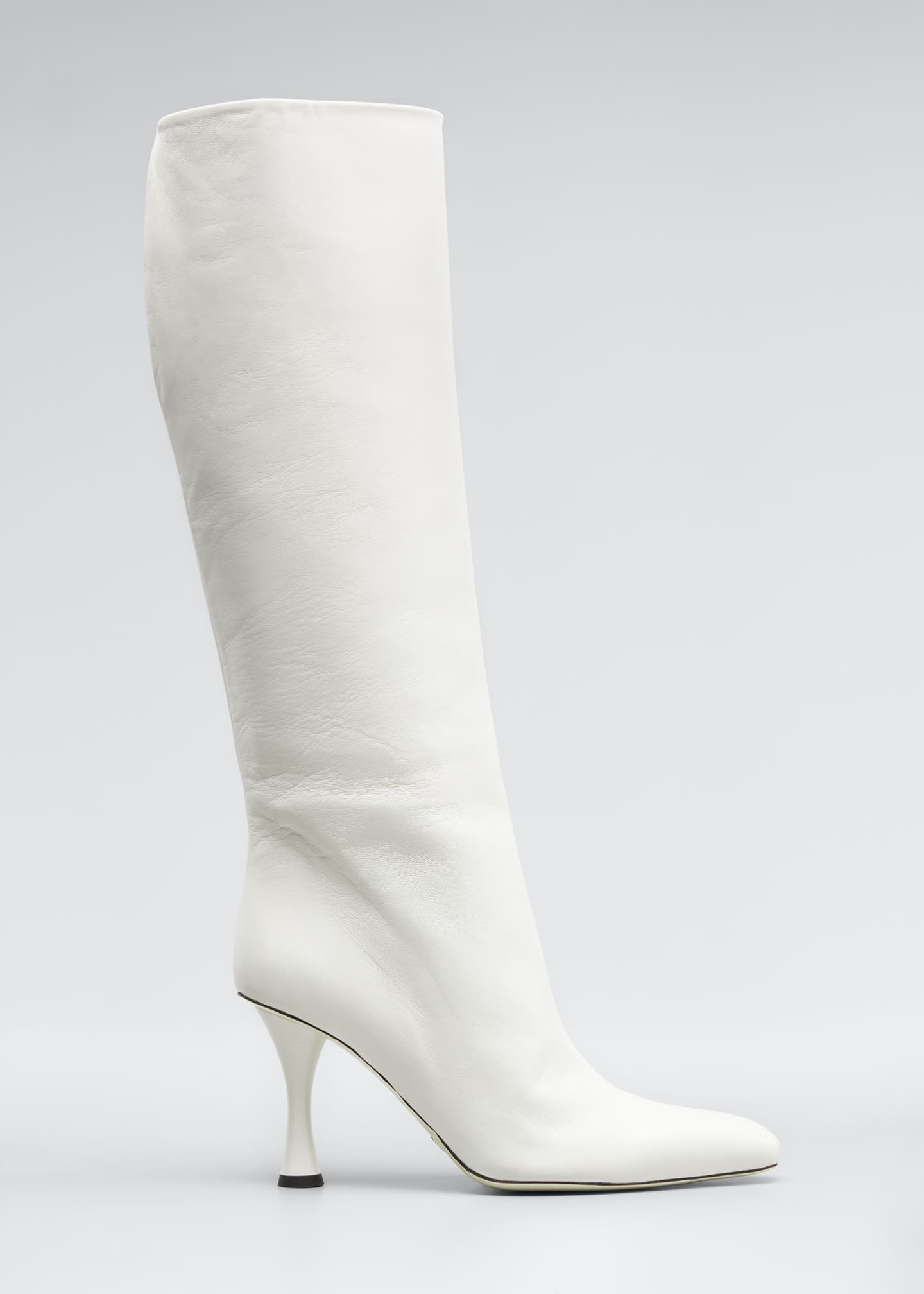 Image 1 of 3: Vase Leather Knee Boots