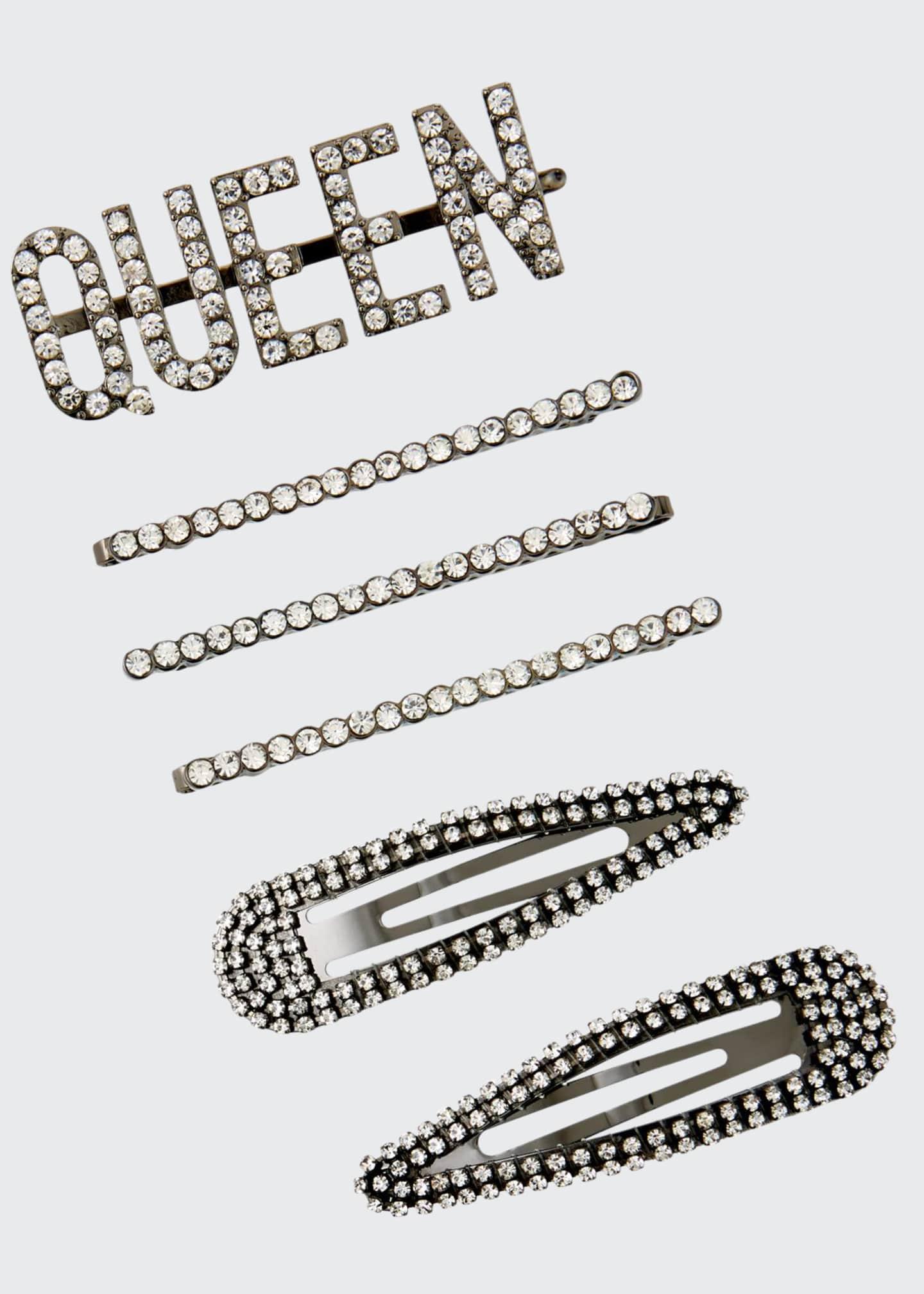 Kitsch Assorted Queen Rhinestone Bobby Pin Set