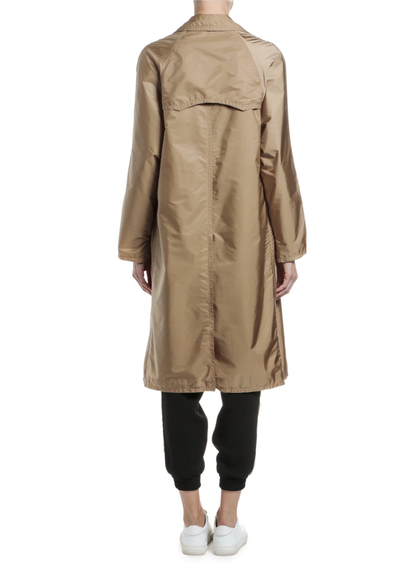 Image 2 of 4: Vanille Long Raincoat