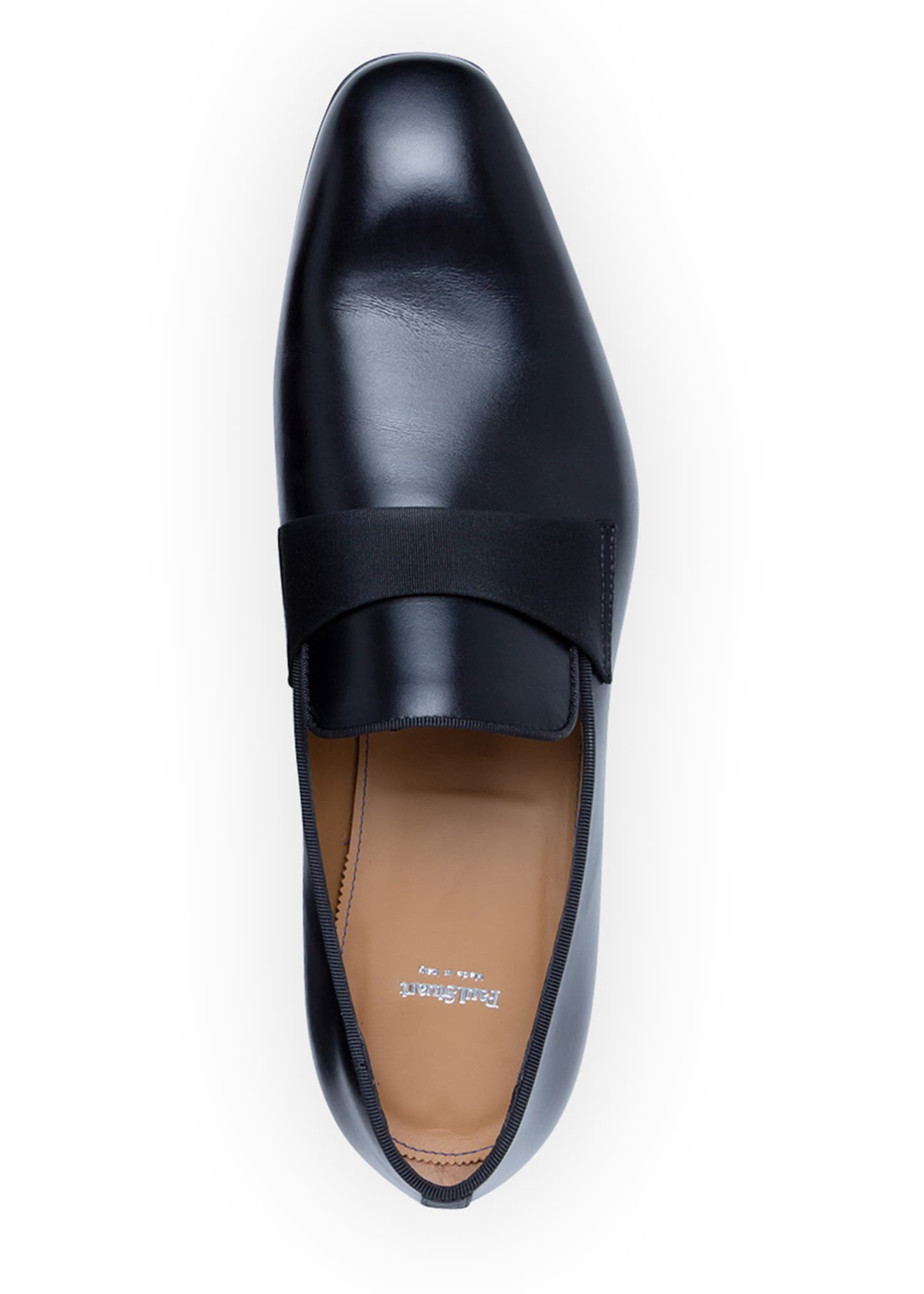 Image 2 of 5: Men's Heron Smooth Leather Loafers
