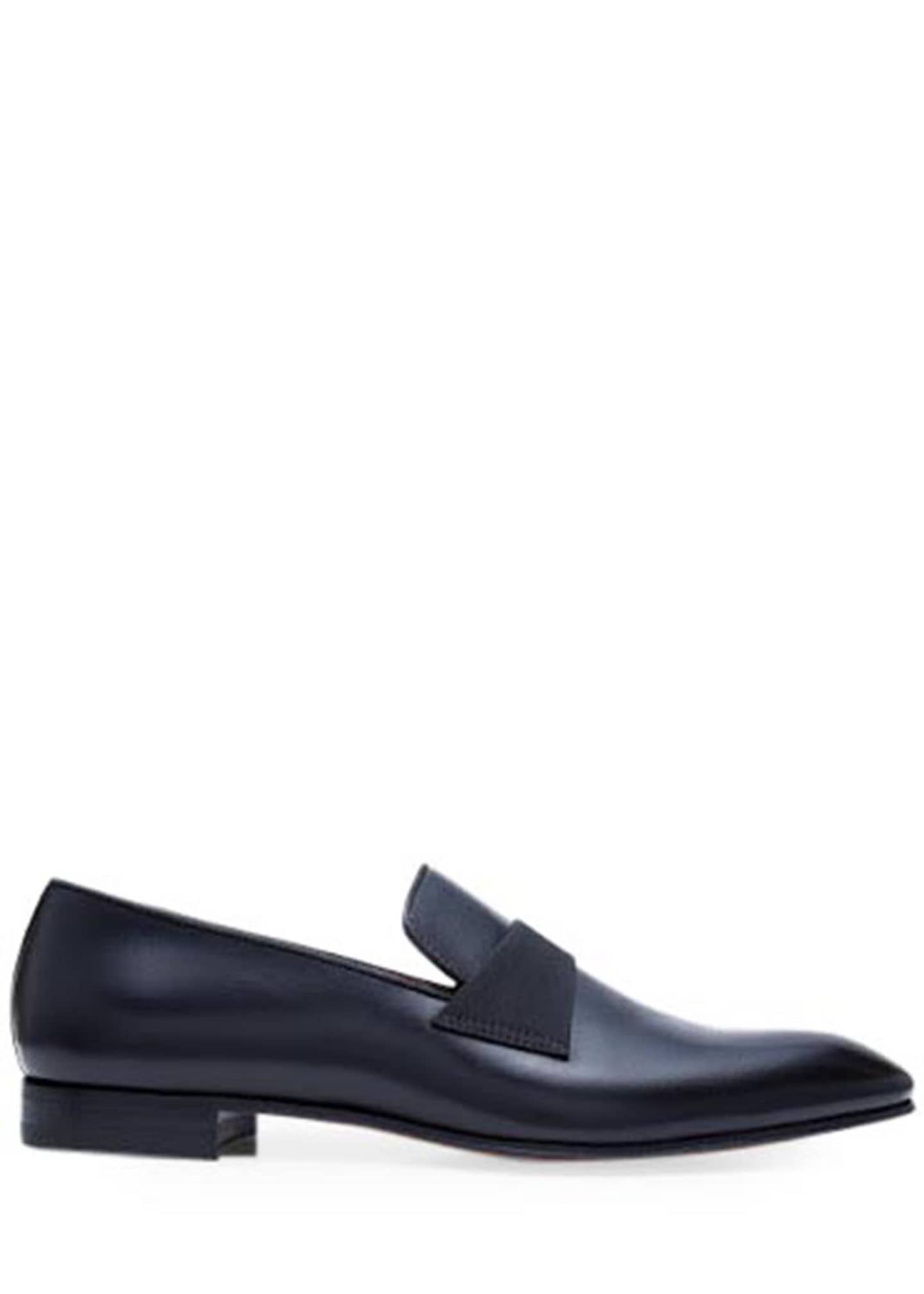 Image 3 of 5: Men's Heron Smooth Leather Loafers
