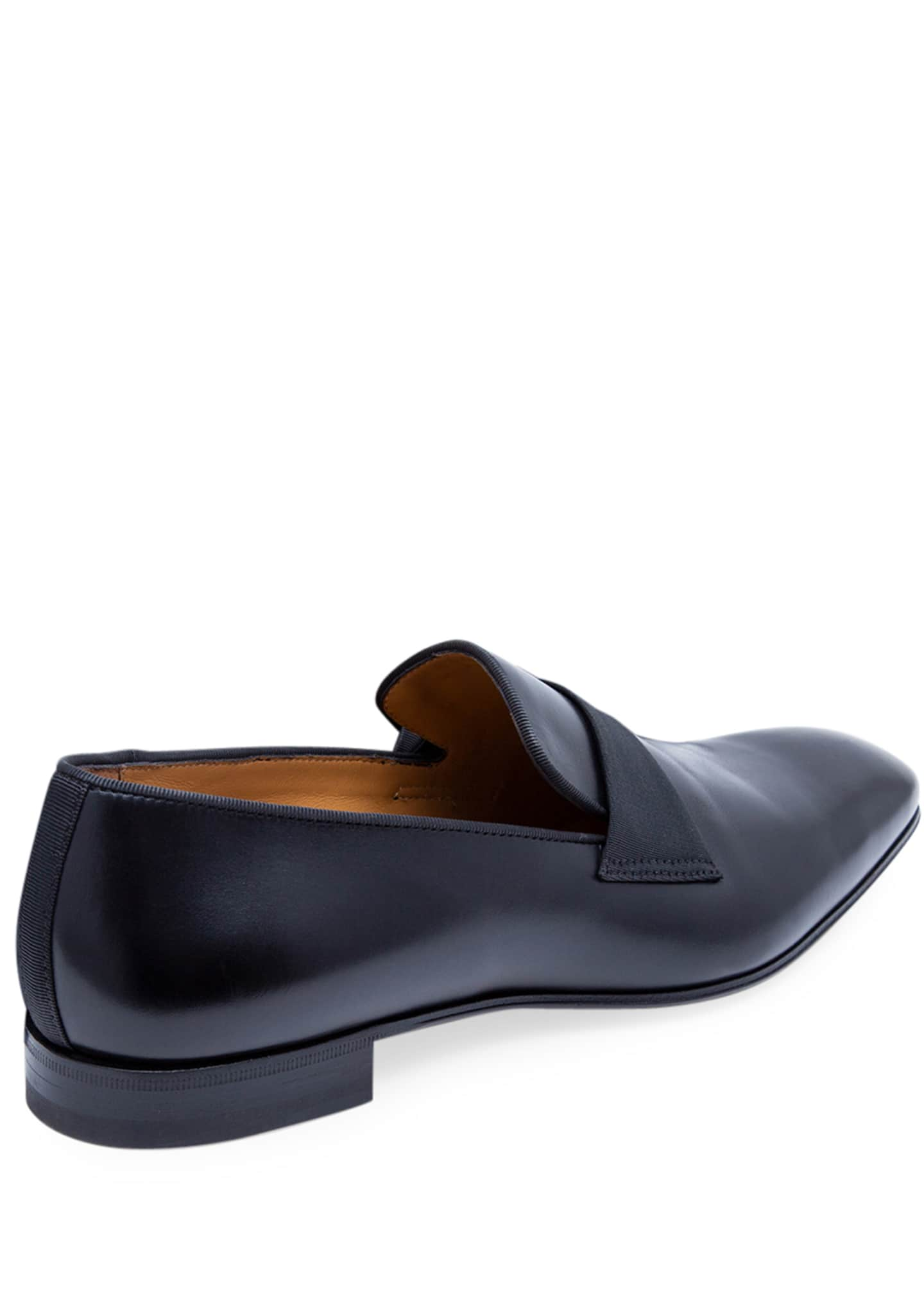 Image 4 of 5: Men's Heron Smooth Leather Loafers