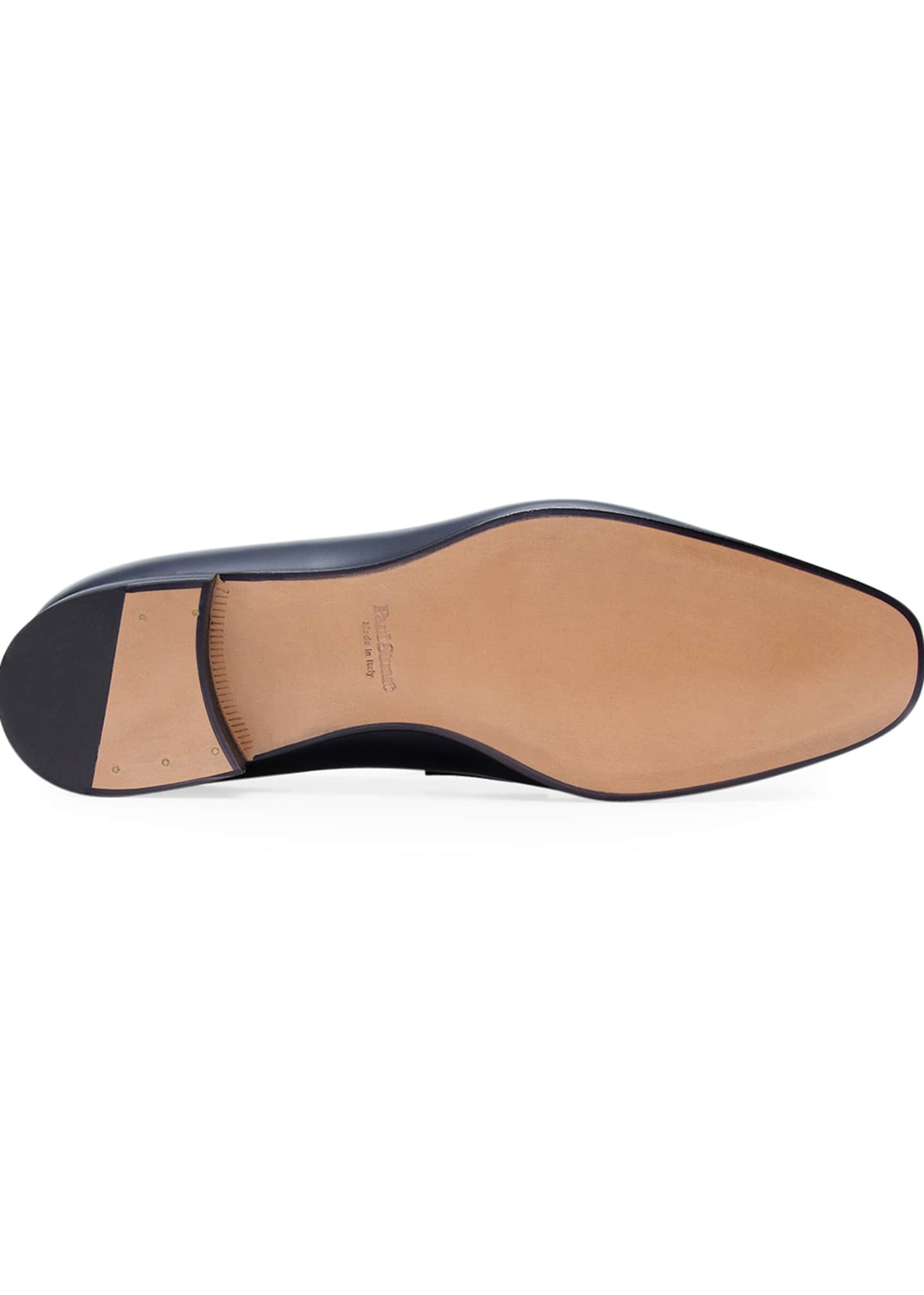 Image 5 of 5: Men's Heron Smooth Leather Loafers