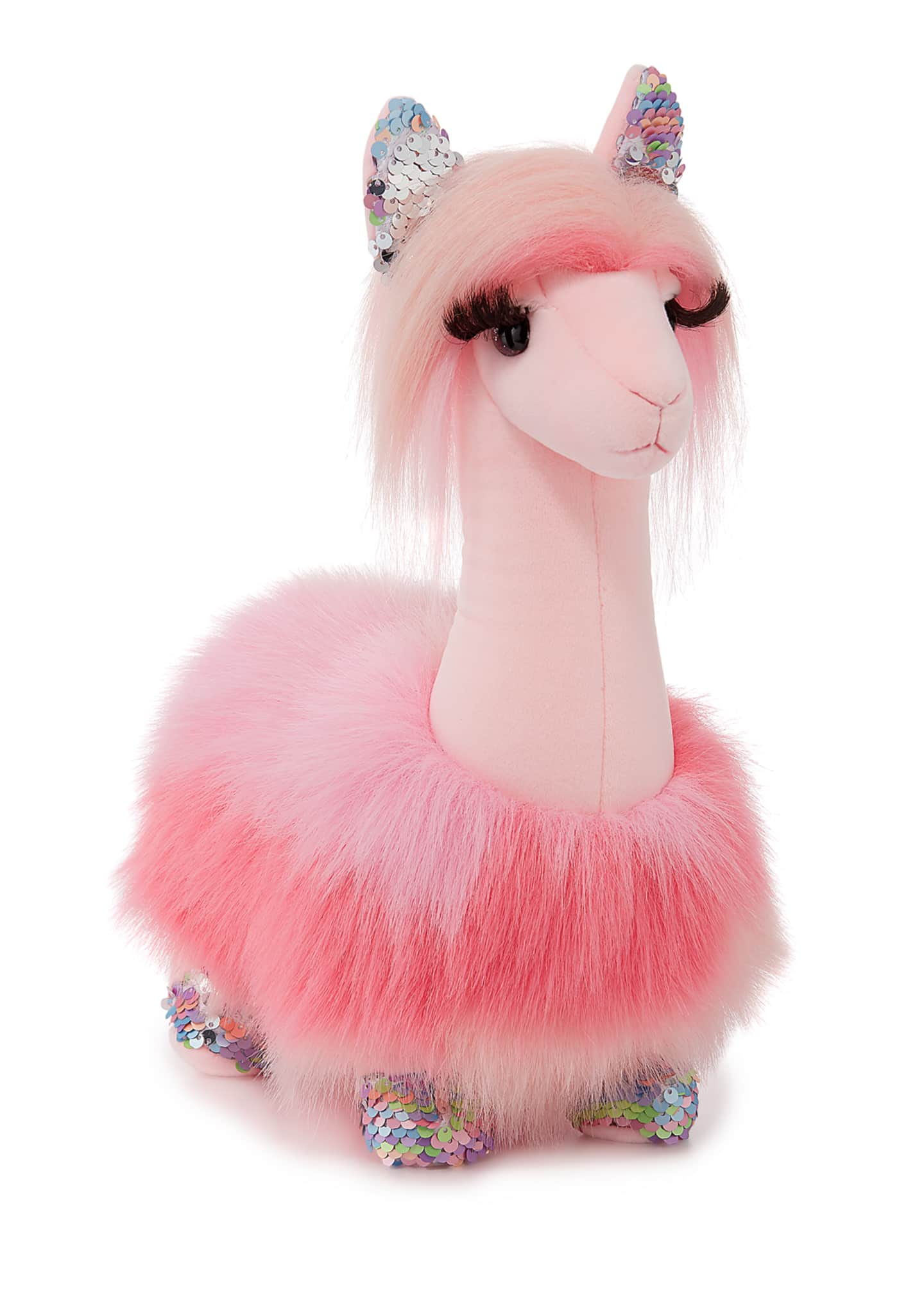 Douglas Sakura the Llama Fuzzle Stuffed Animal