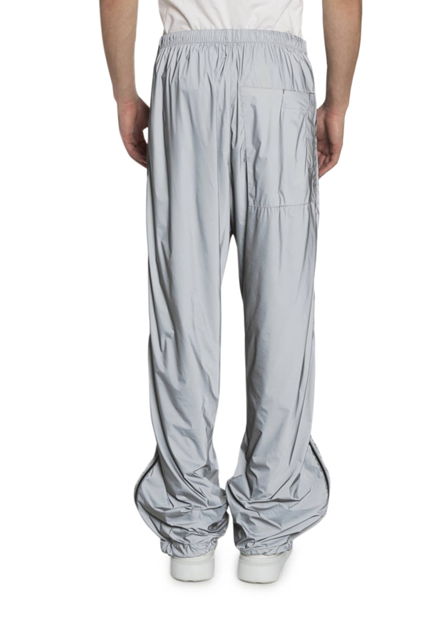 Image 2 of 2: Men's Printed Technical Nylon Jogger Pants