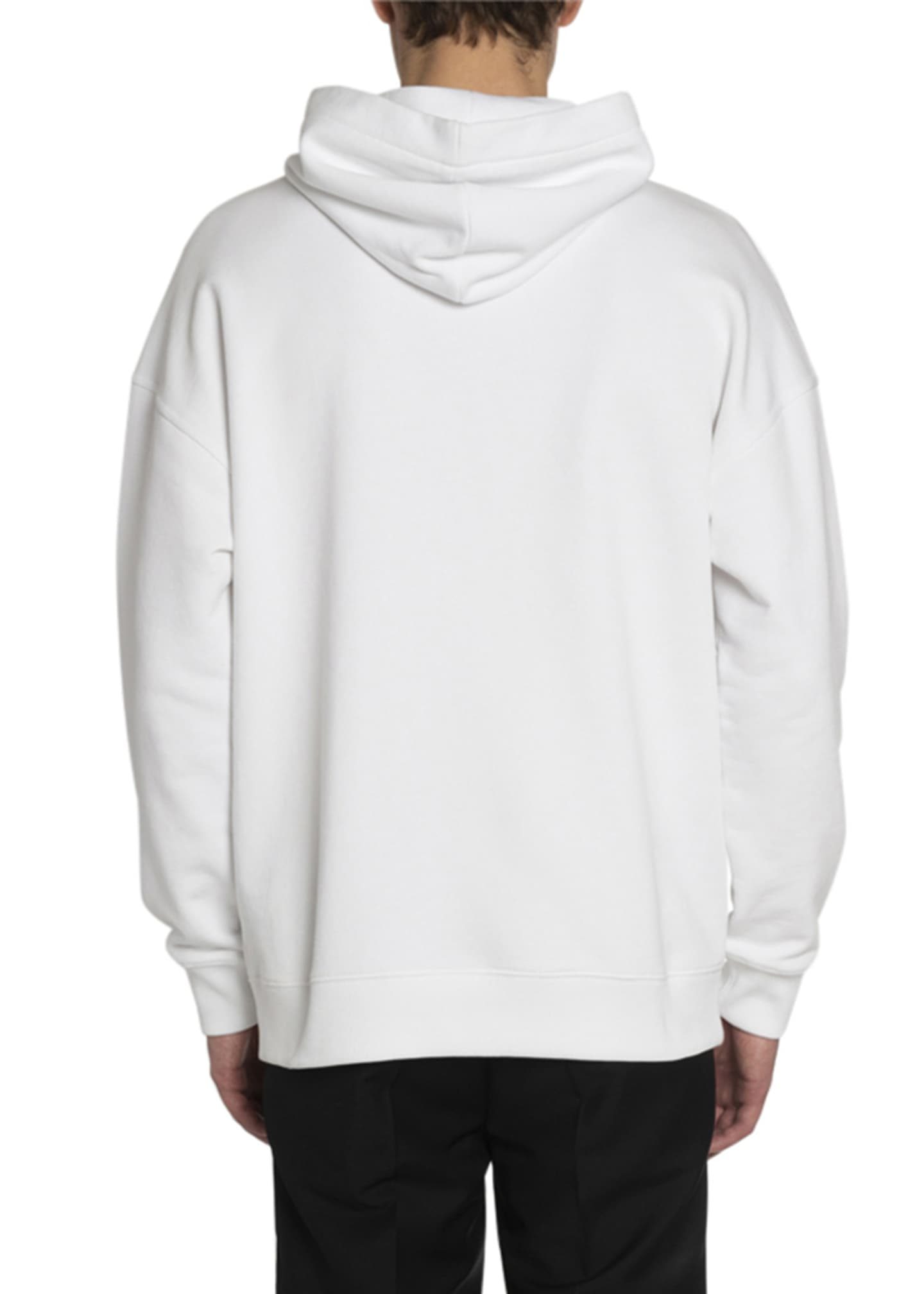 Image 2 of 2: Men's Logo Typographic Pullover Hoodie