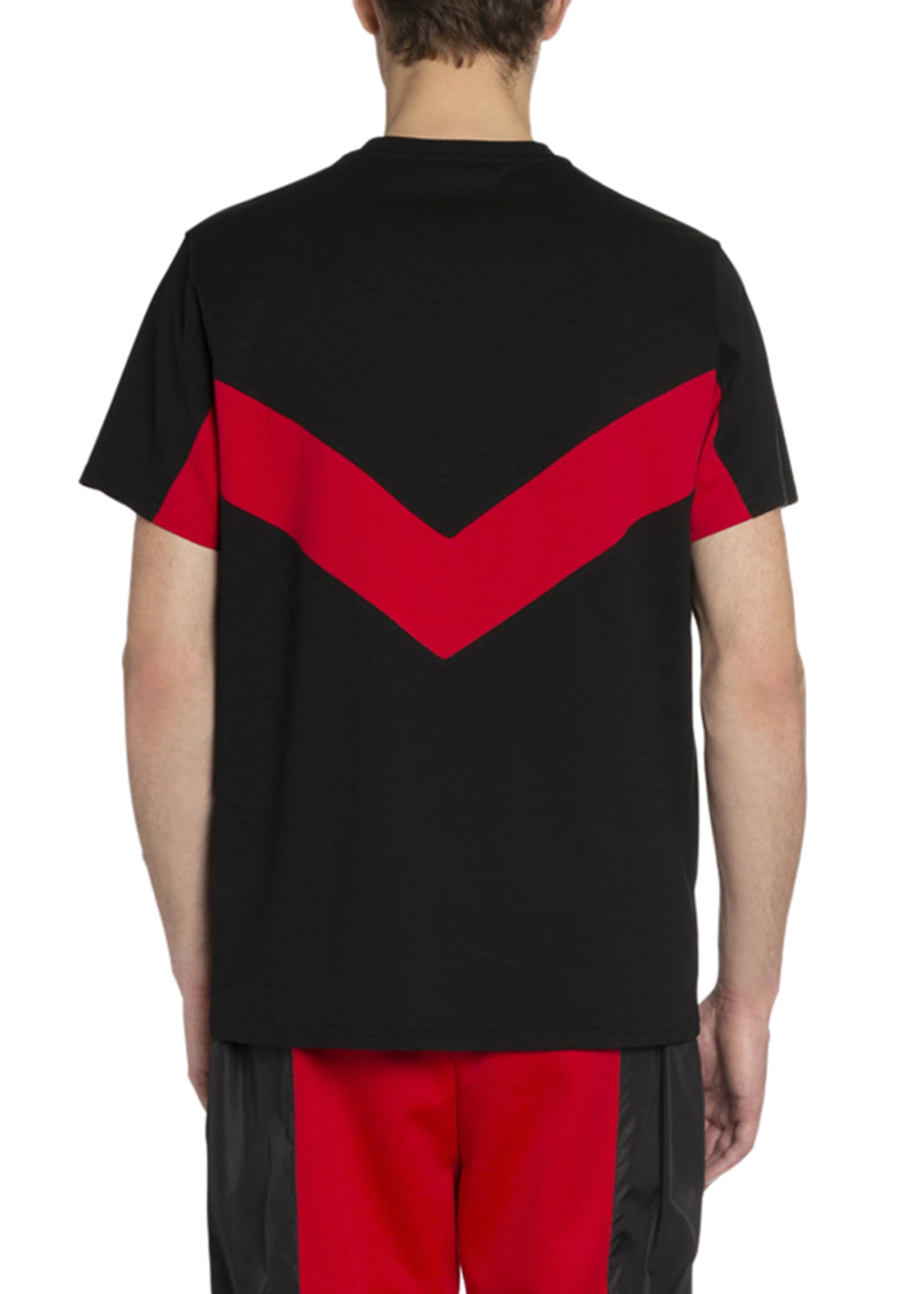 Image 2 of 2: Men's Banded Sporty T-Shirt