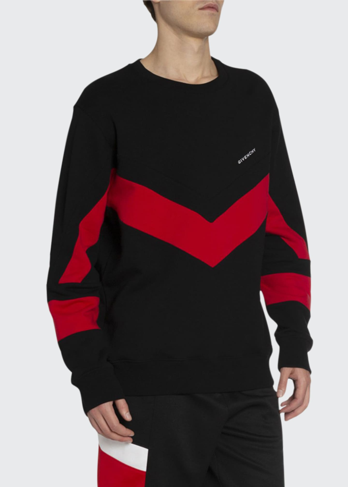 Givenchy Men's Banded Sport Sweatshirt