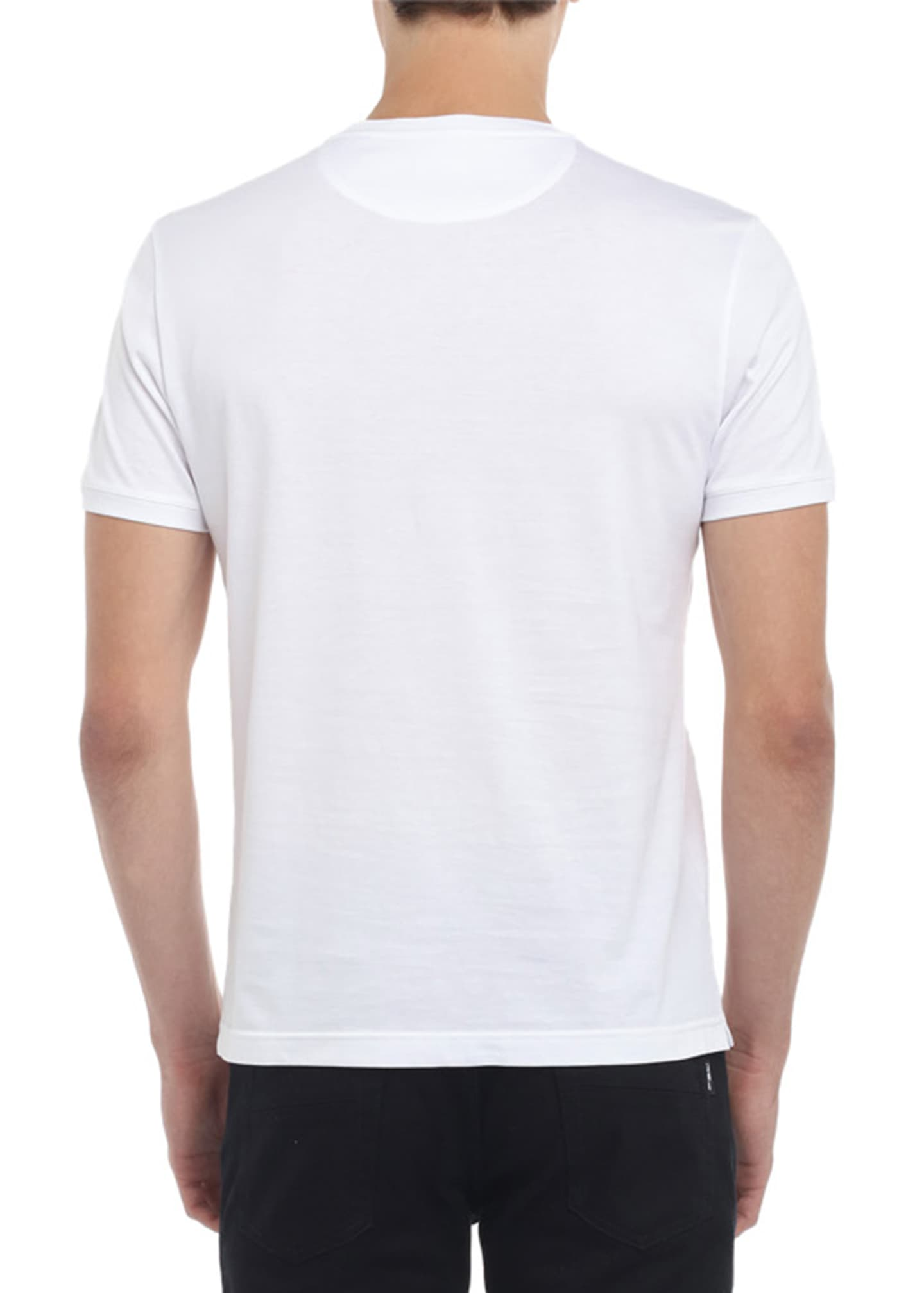 Image 2 of 2: Men's Faded-FF Tonal T-Shirt