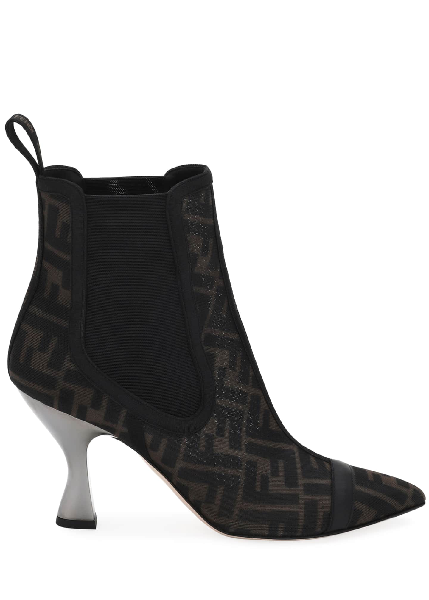 Image 2 of 4: FF Mesh Gored Booties