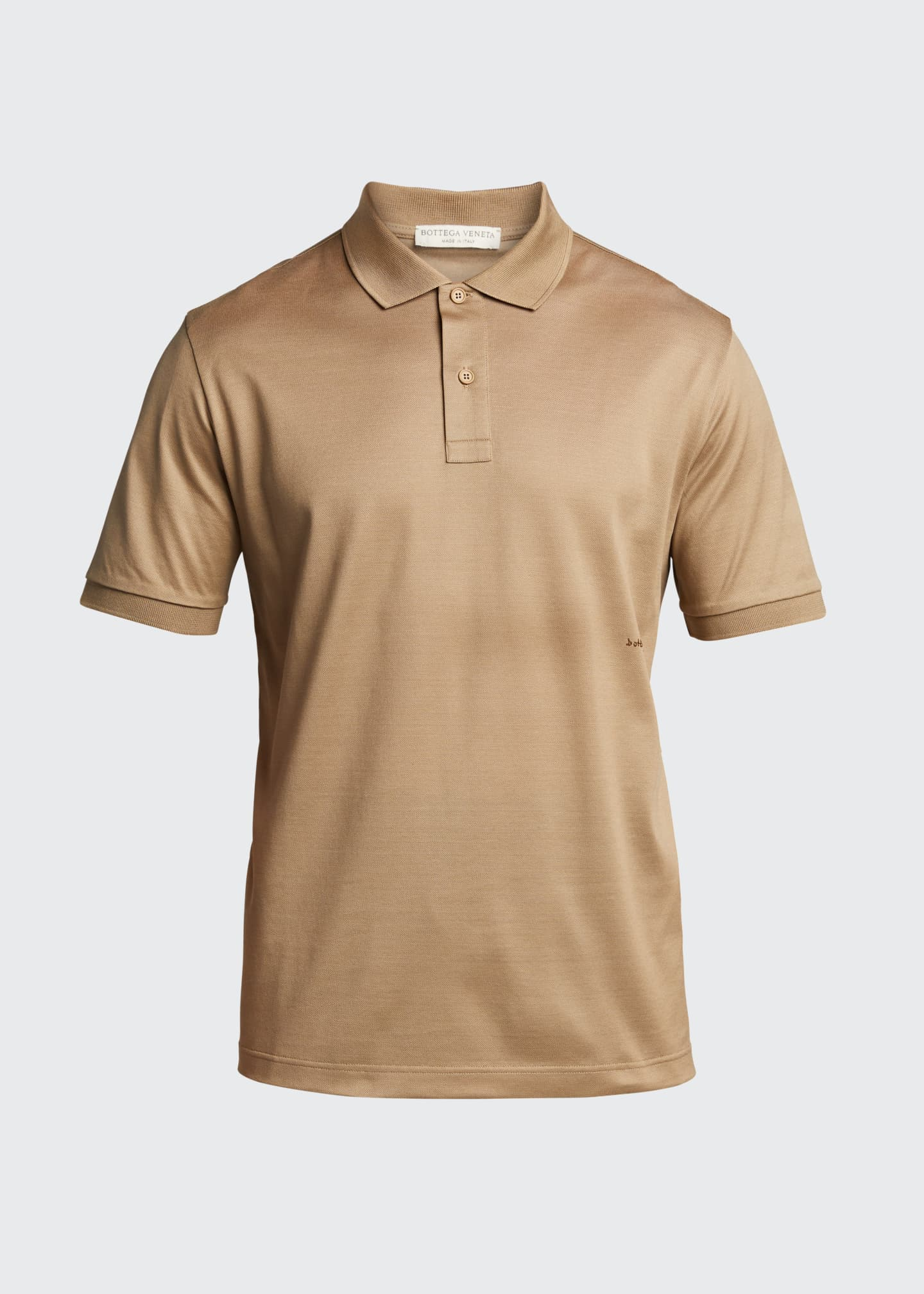 Image 5 of 5: Men's Solid Pique Polo Shirt
