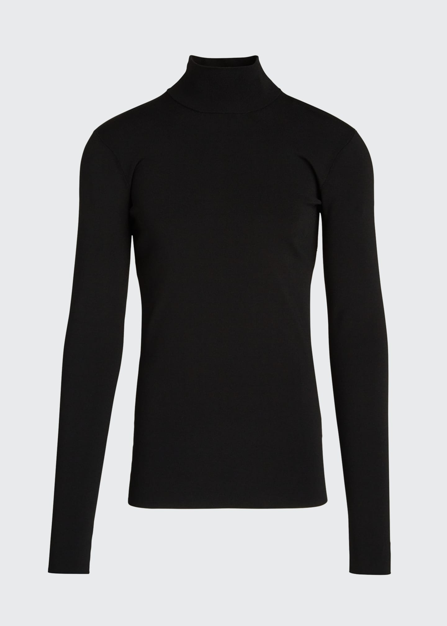 Image 5 of 5: Men's Tech-Knit Turtleneck Sweater
