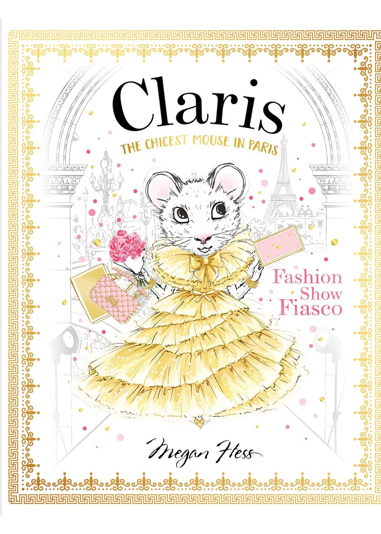 Chronicle Books Claris Fashion Show Fiasco Book