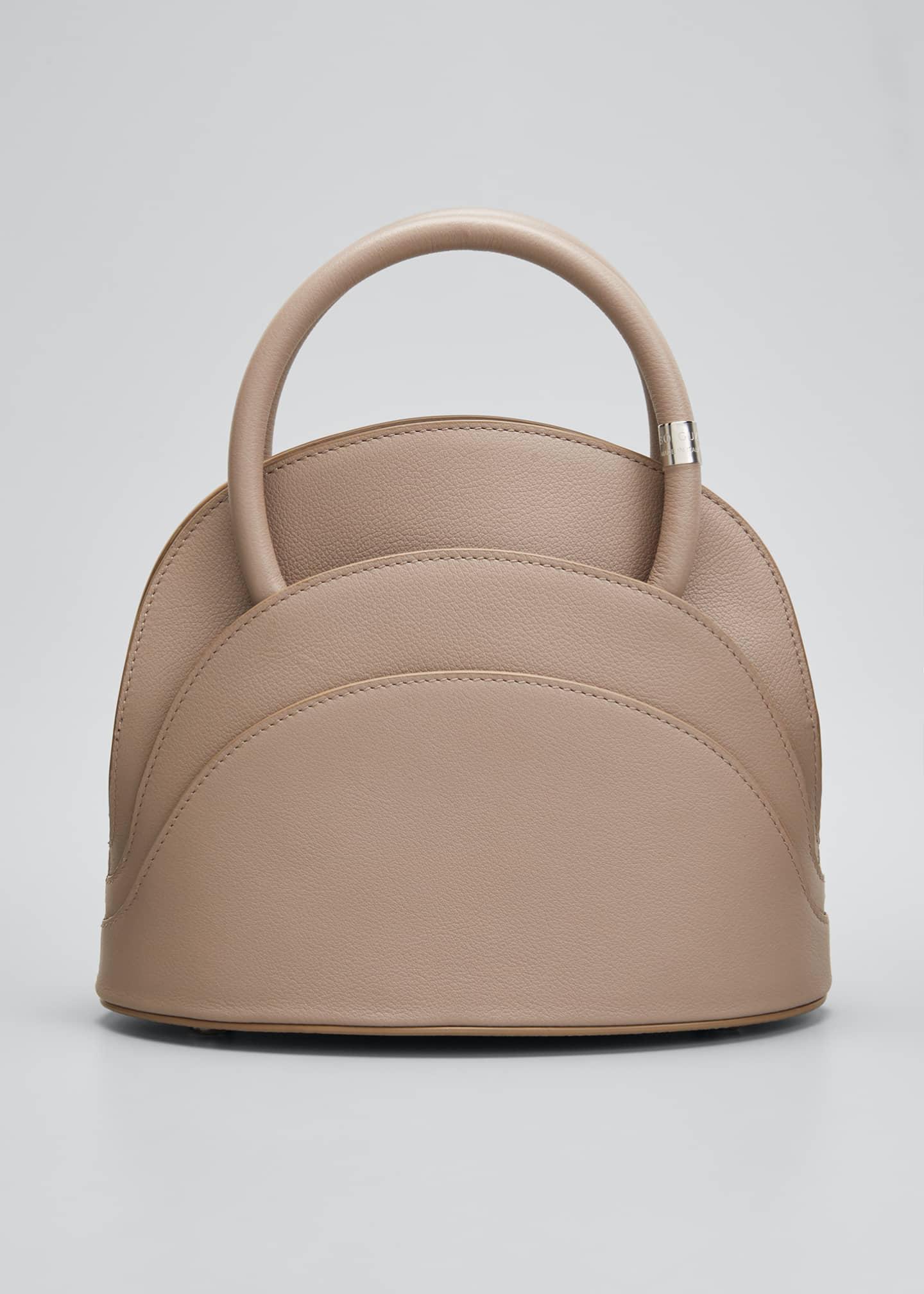 Gabo Guzzo Millefoglie Medium Layered Leather Top-Handle Bag