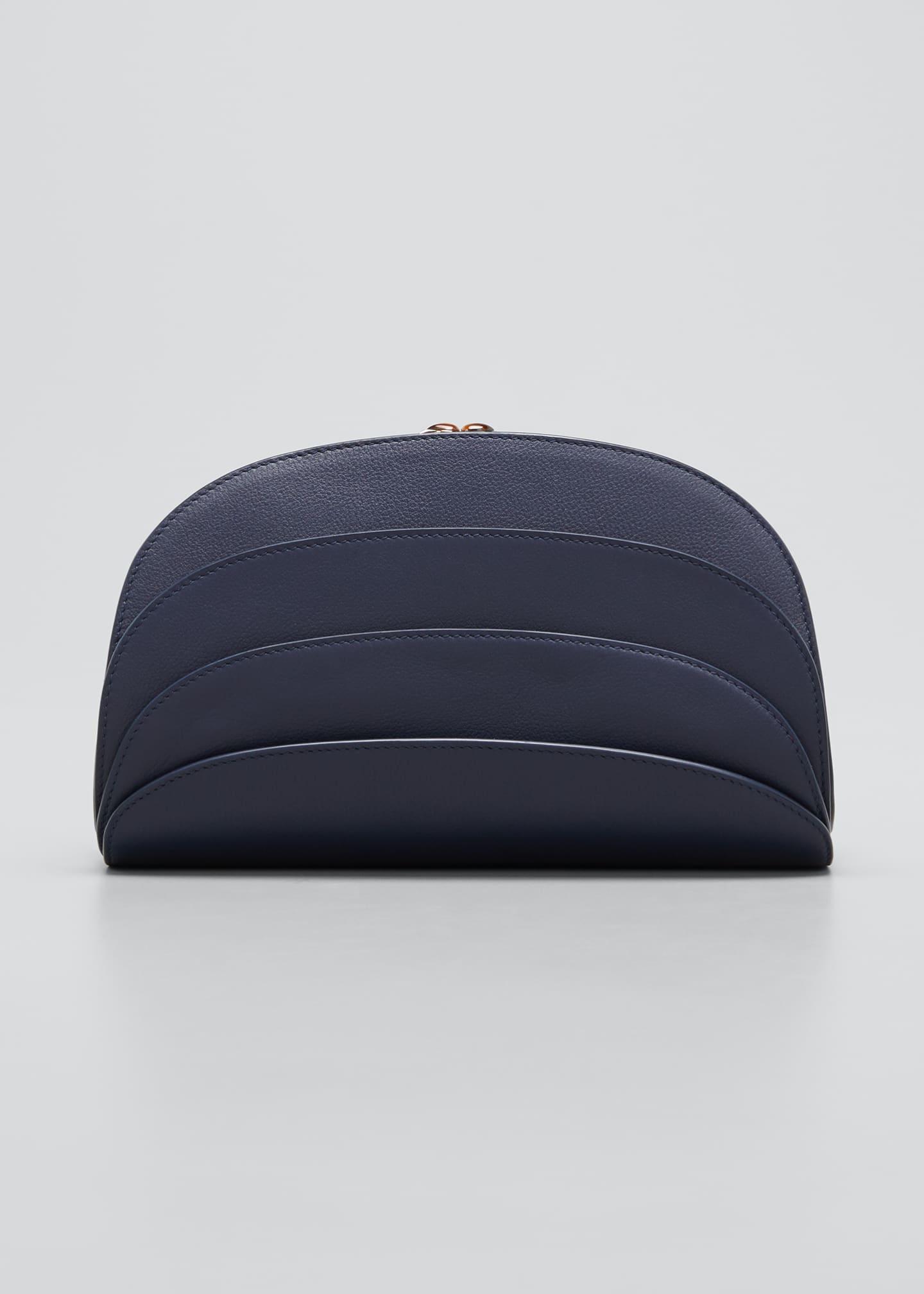 Gabo Guzzo Millefoglie Layered Leather Clutch Bag with