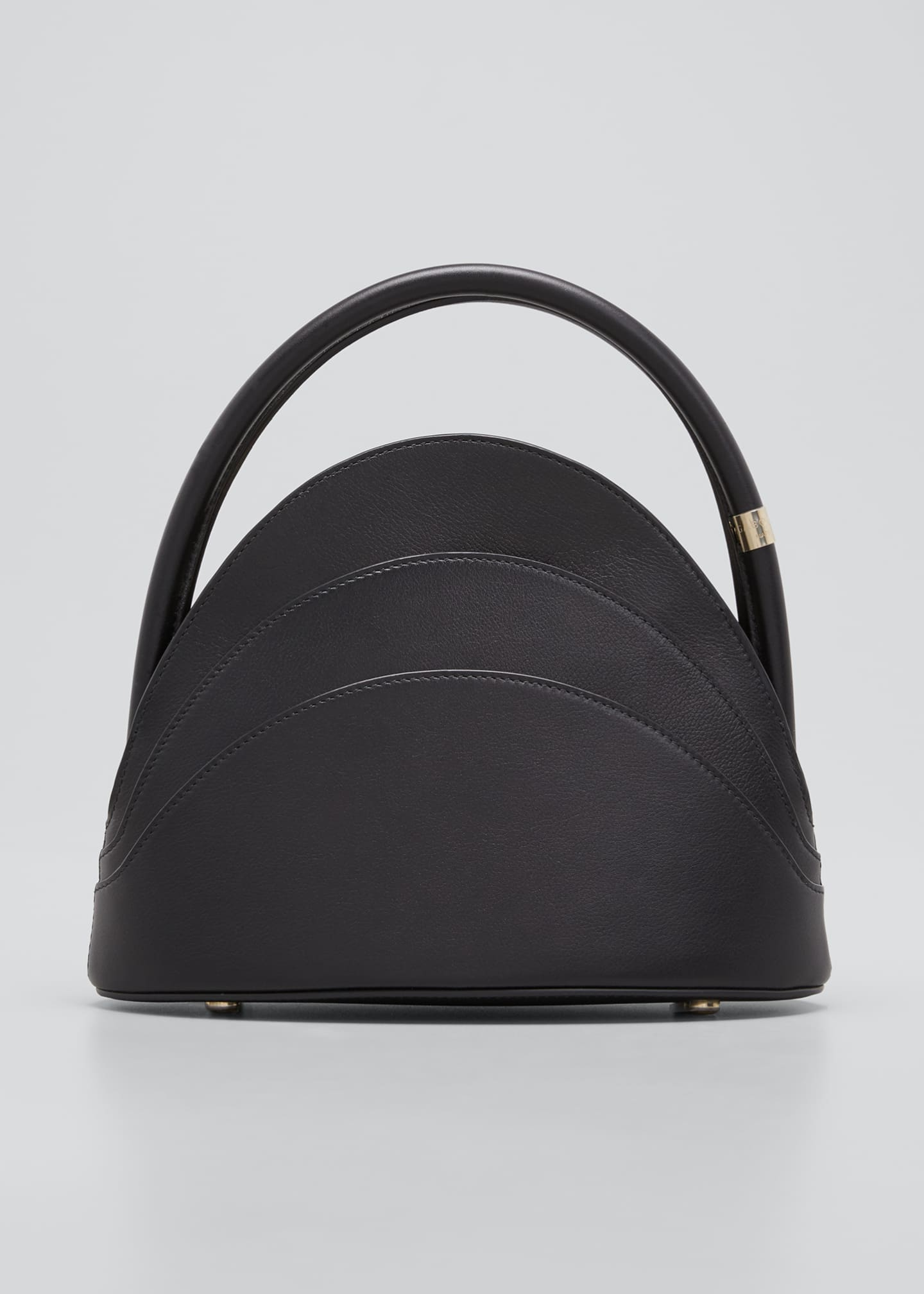 Gabo Guzzo Millefoglie Small Layered Leather Top-Handle Bag