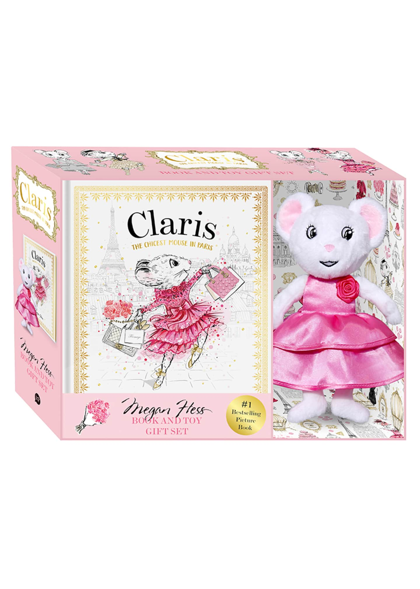 Chronicle Books Claris Book & Toy Gift Set
