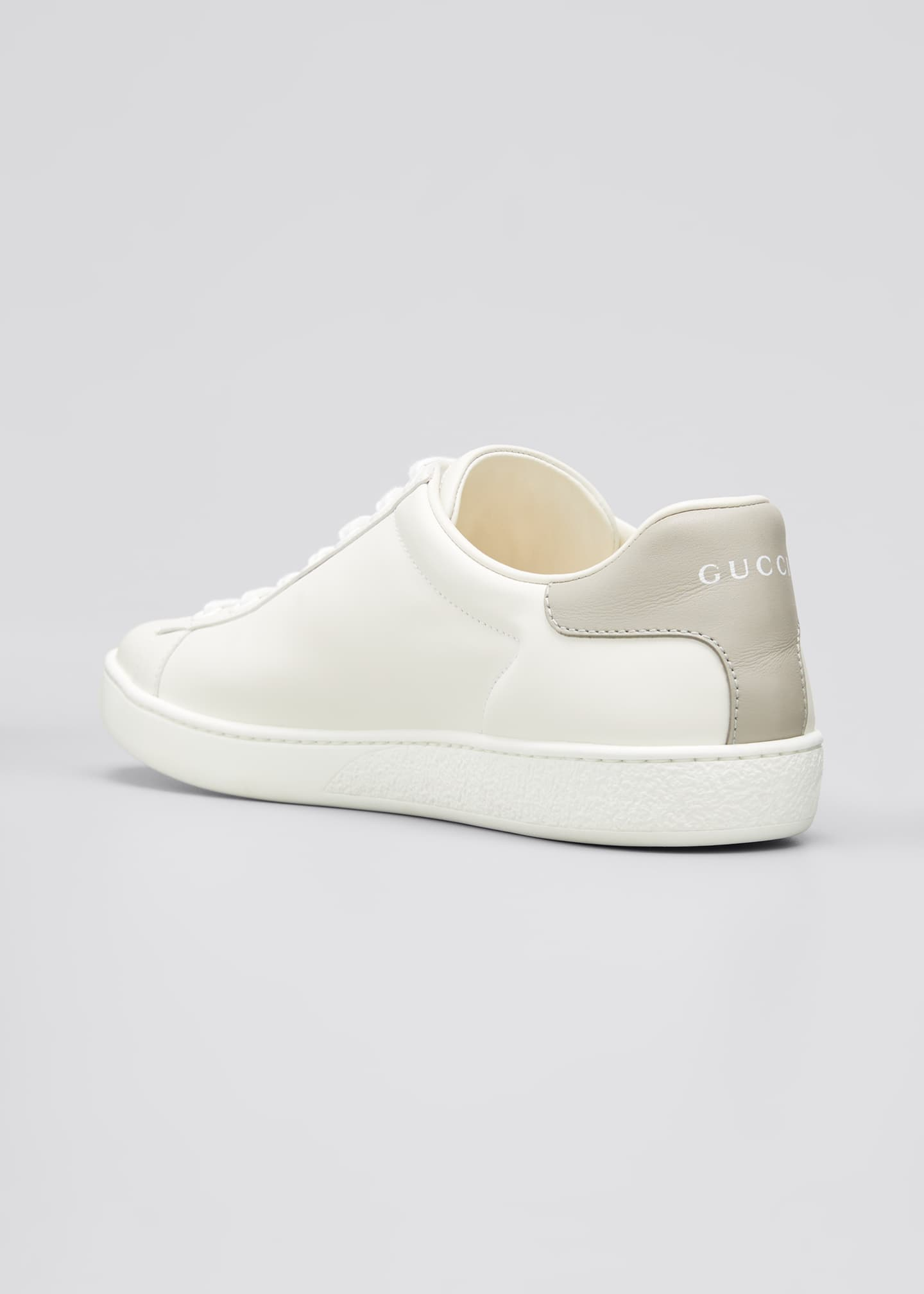 Image 4 of 5: New Ace Perforated Leather Sneakers