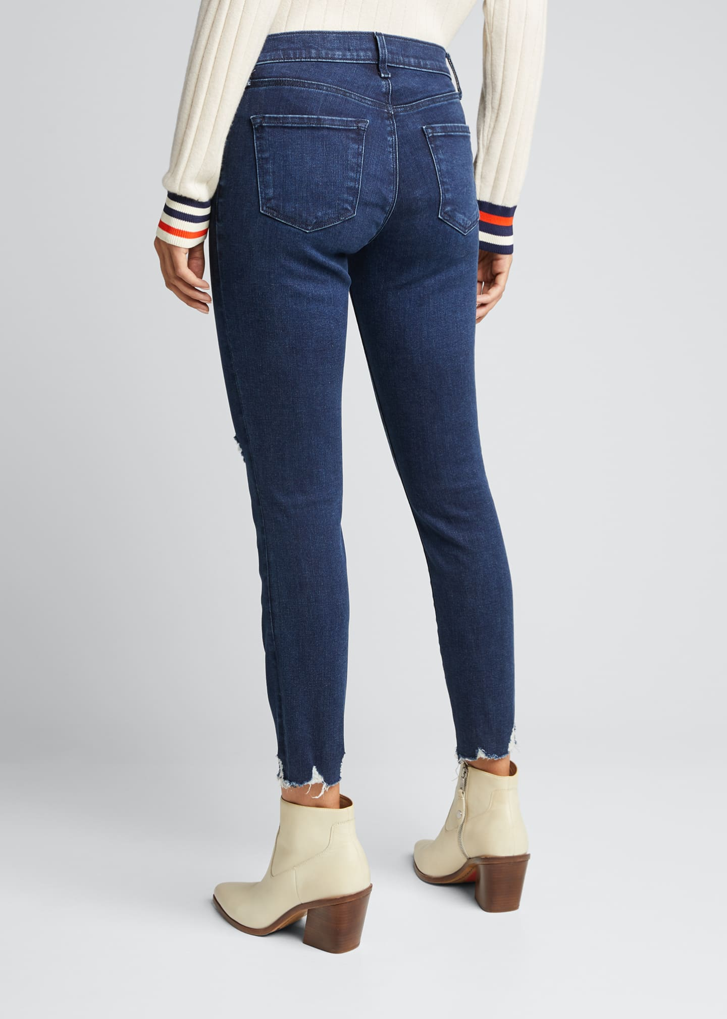 Image 2 of 5: 835 Mid-Rise Cropped Skinny Jeans