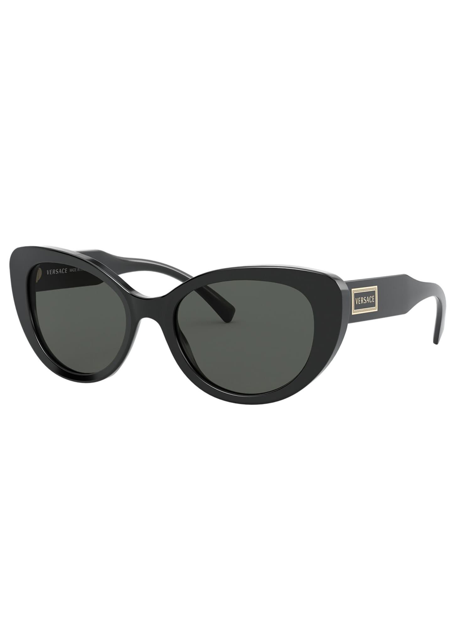 Versace Cat-Eye Acetate Sunglasses