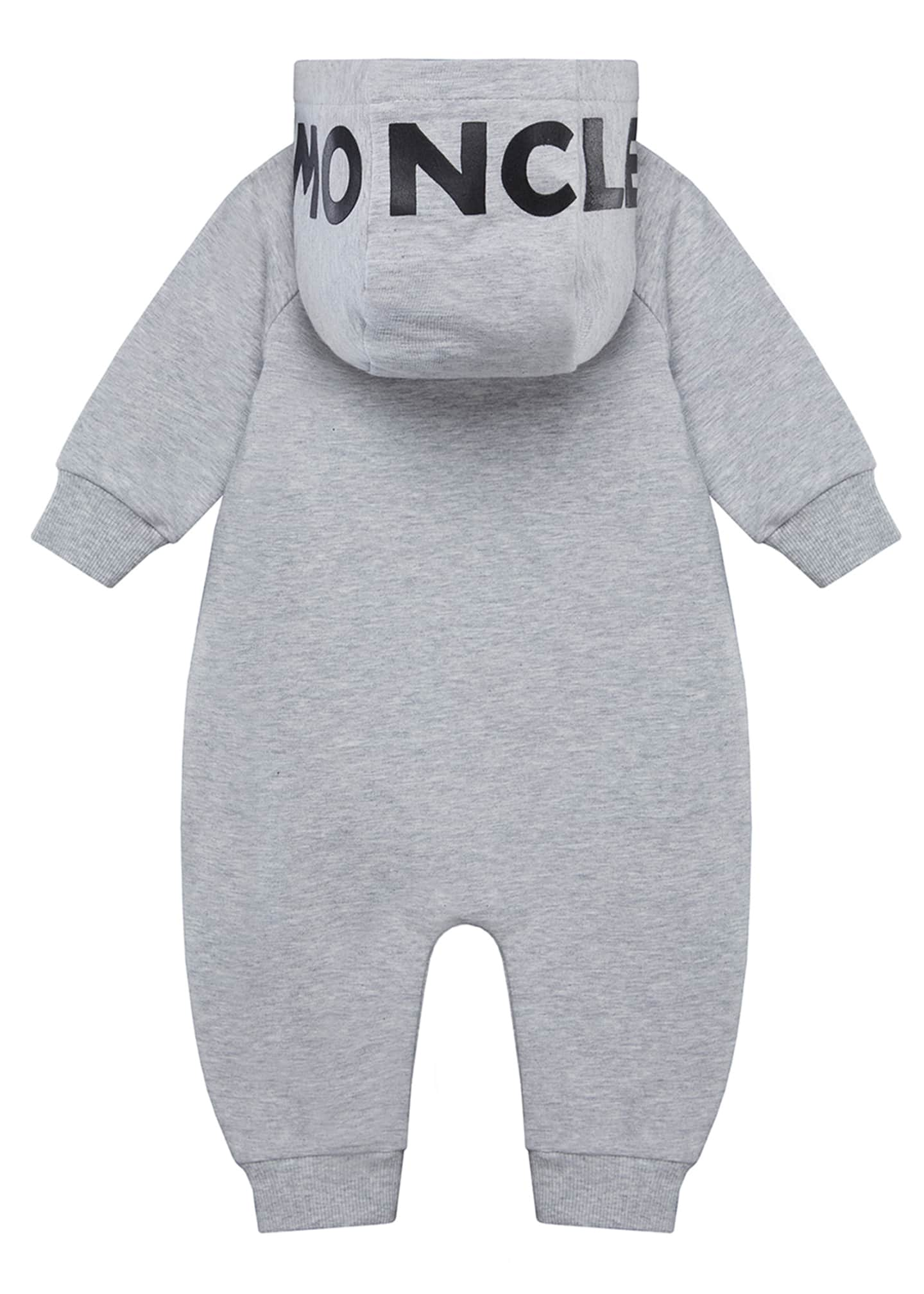 Image 2 of 2: Boy's Logo Hooded Coverall, Size 3-18 Months