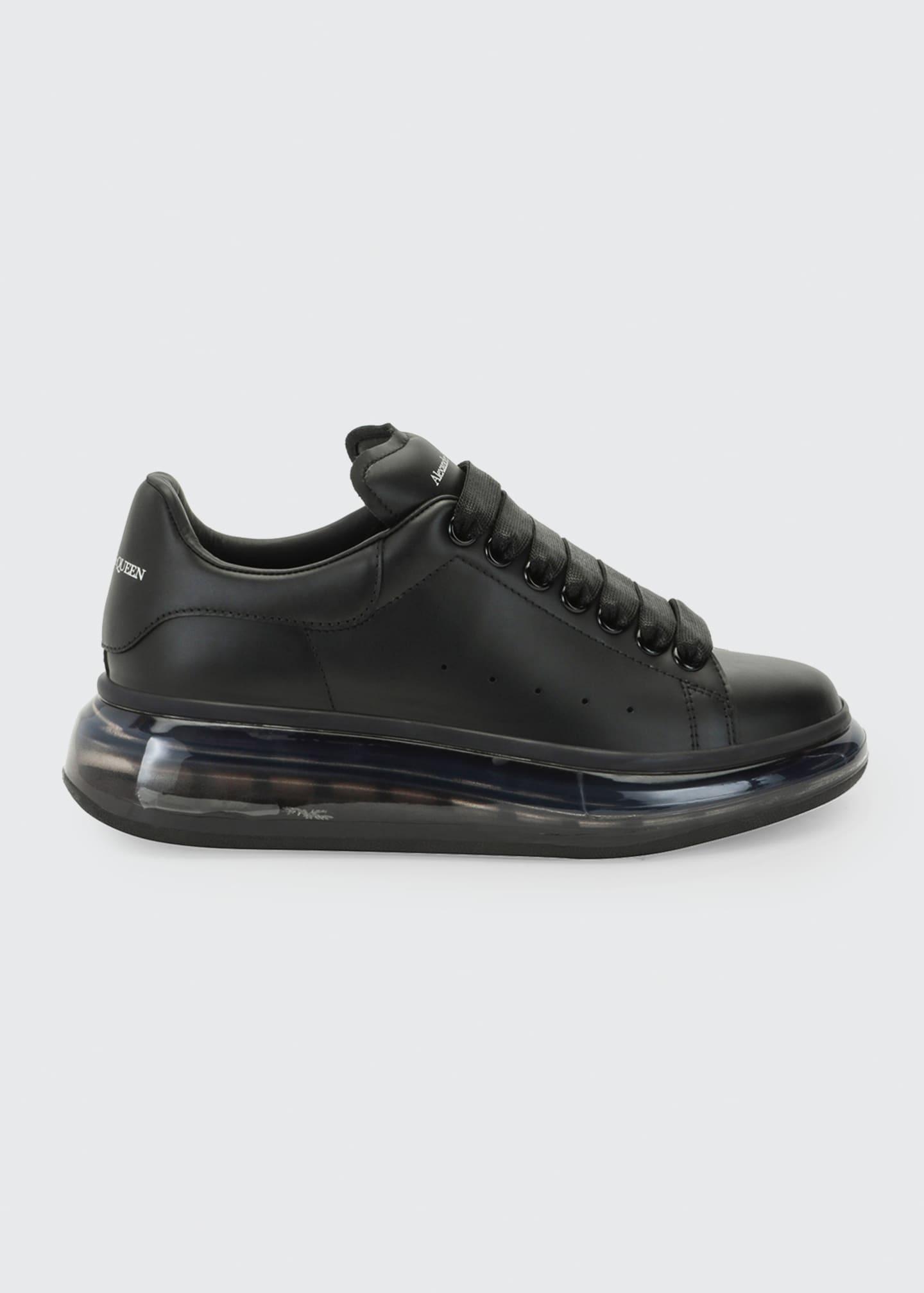 Alexander McQueen Transparent Oversized Sneakers