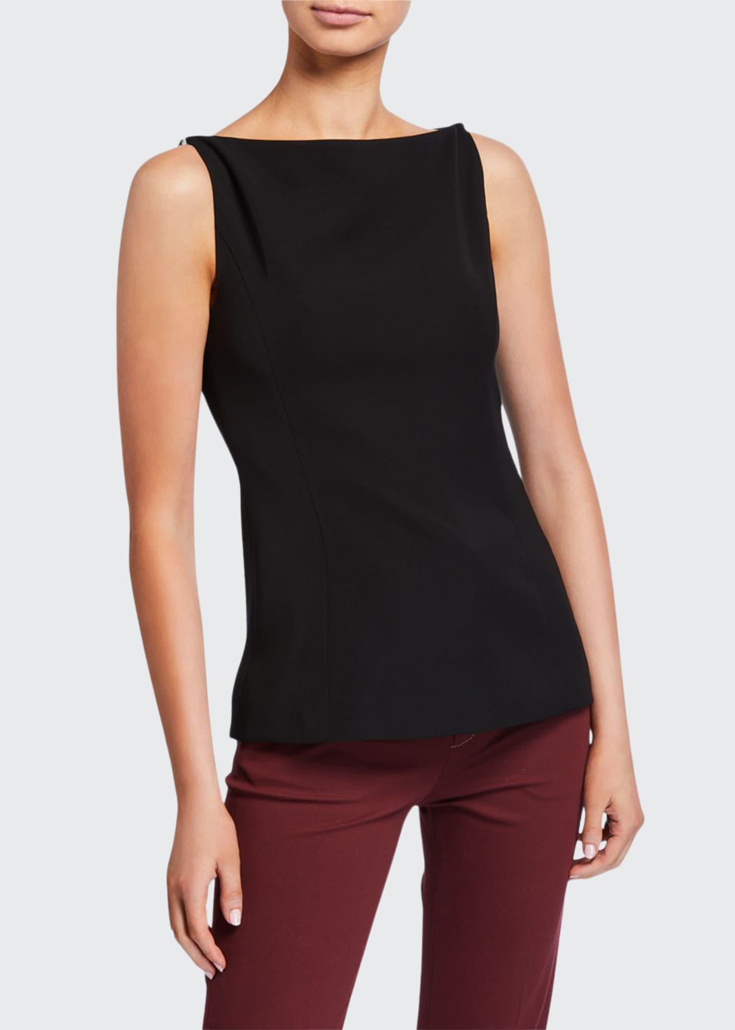 ADEAM Pearly-Shoulder Slip Top