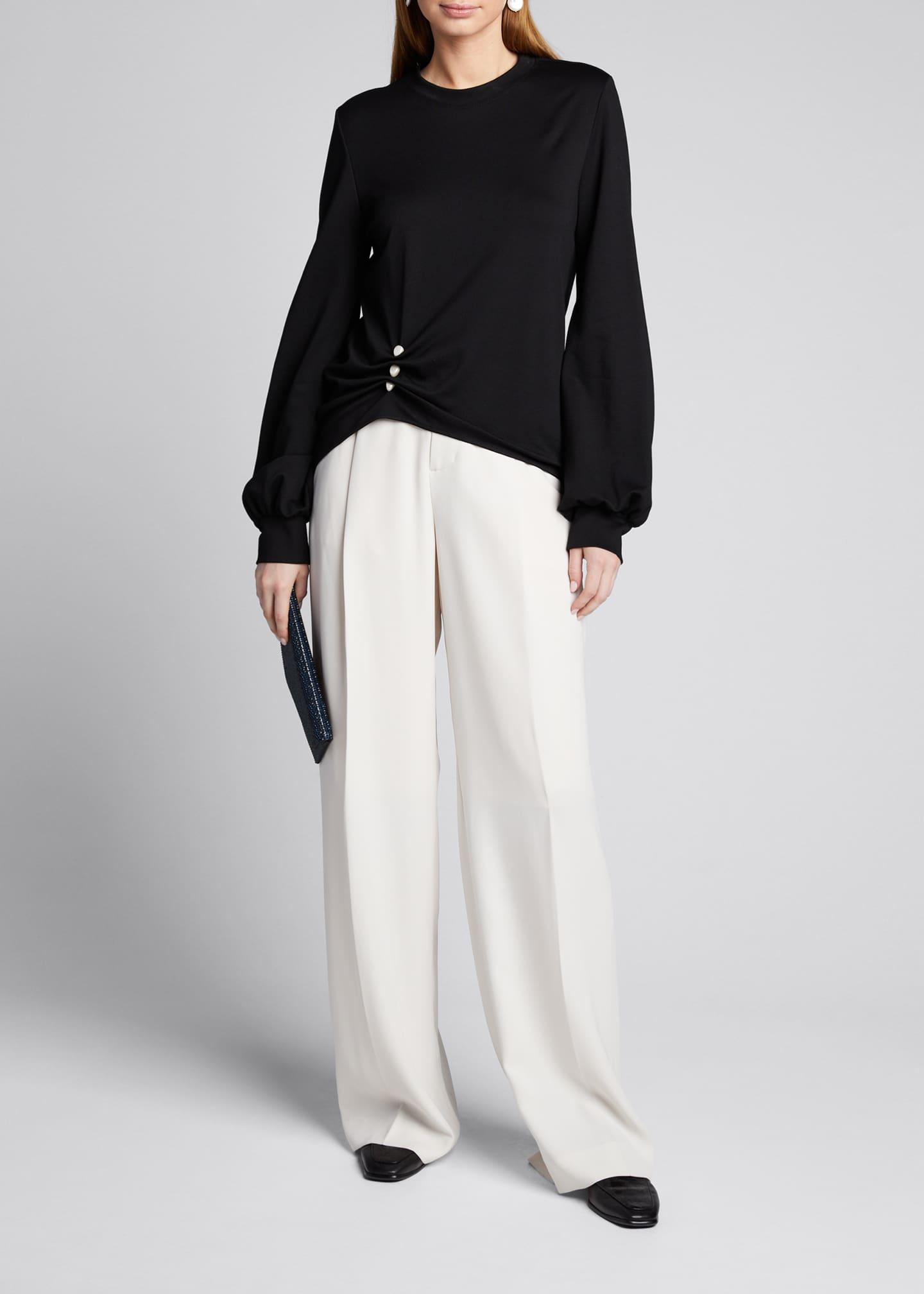 ADEAM Pearly-Sweatshirt