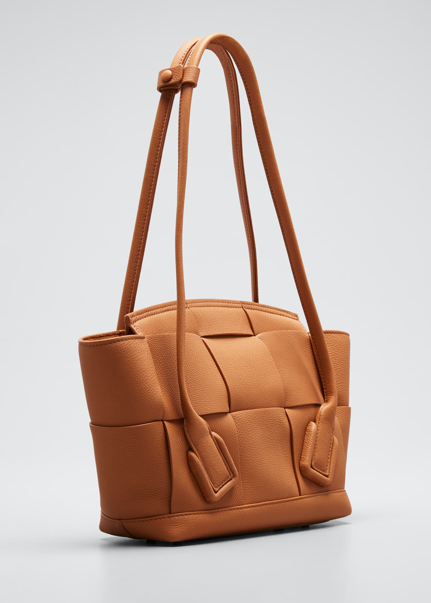 Image 3 of 5: Arco Small Top-Handle Tote Bag