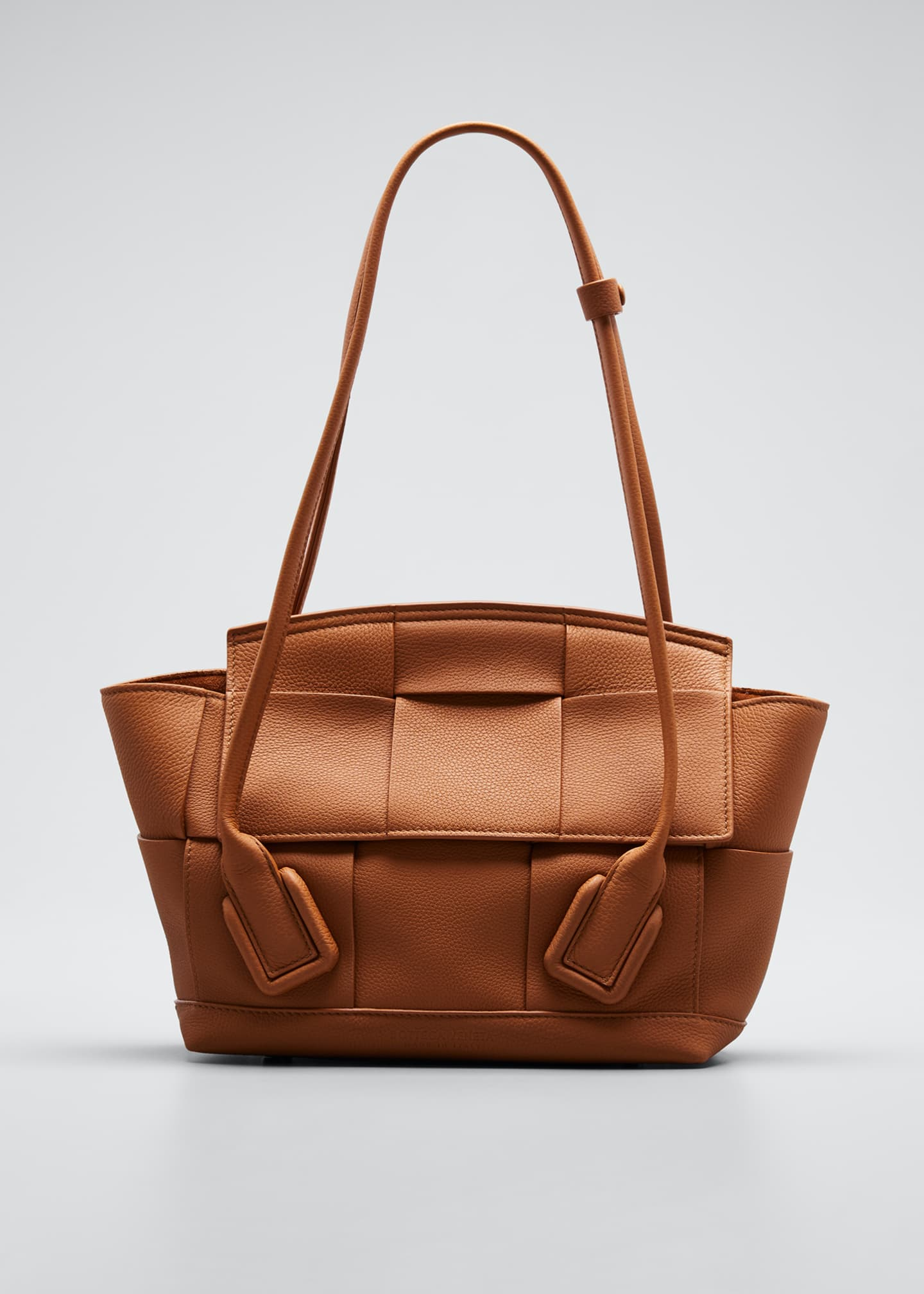 Image 1 of 5: Arco Small Top-Handle Tote Bag