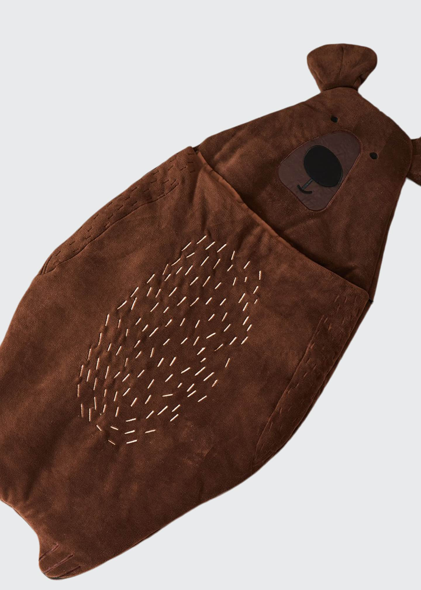 Image 1 of 1: Kid's Bear Sleeping Bag