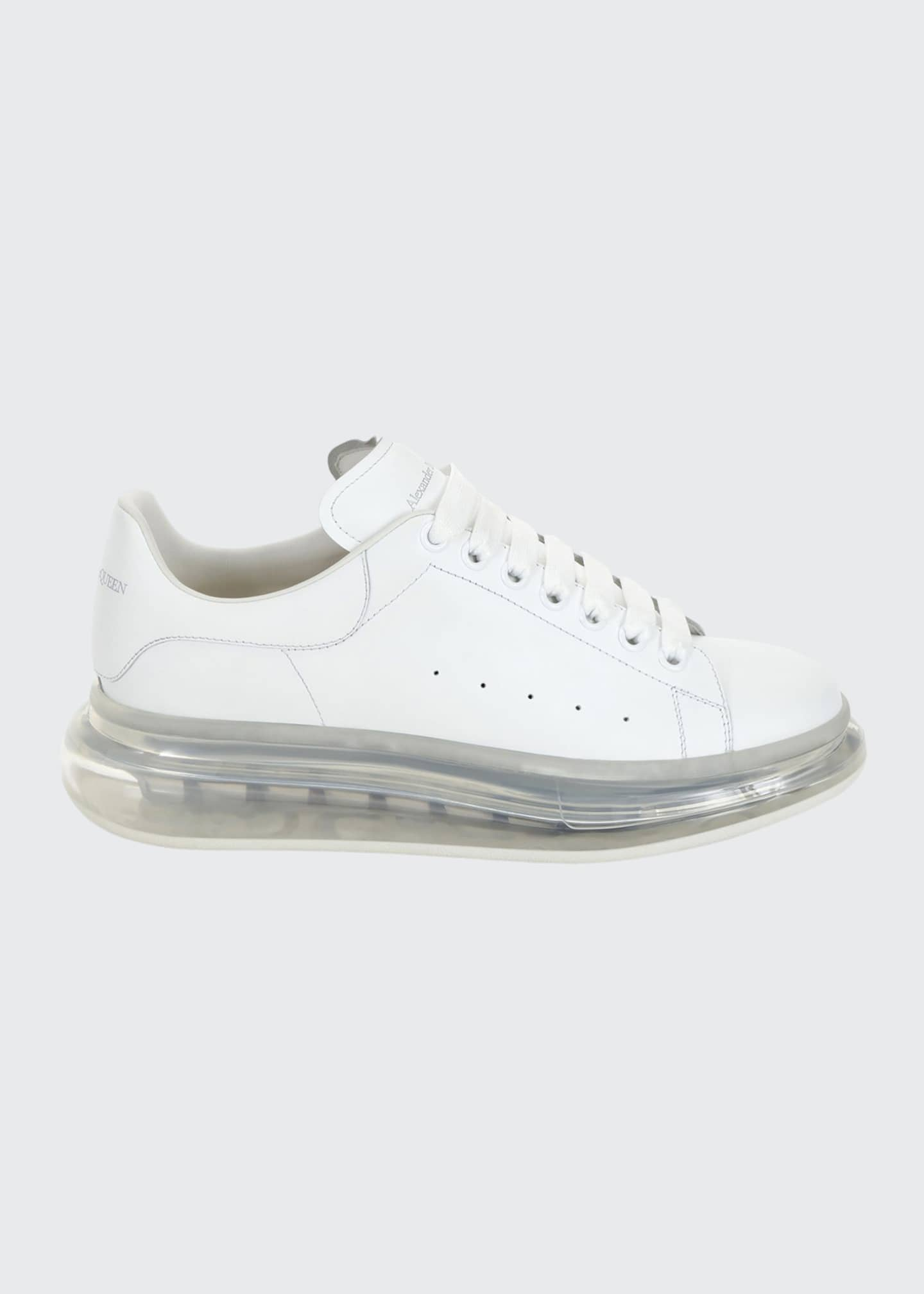 Image 1 of 3: Men's Oversized Clear-Sole Sneakers
