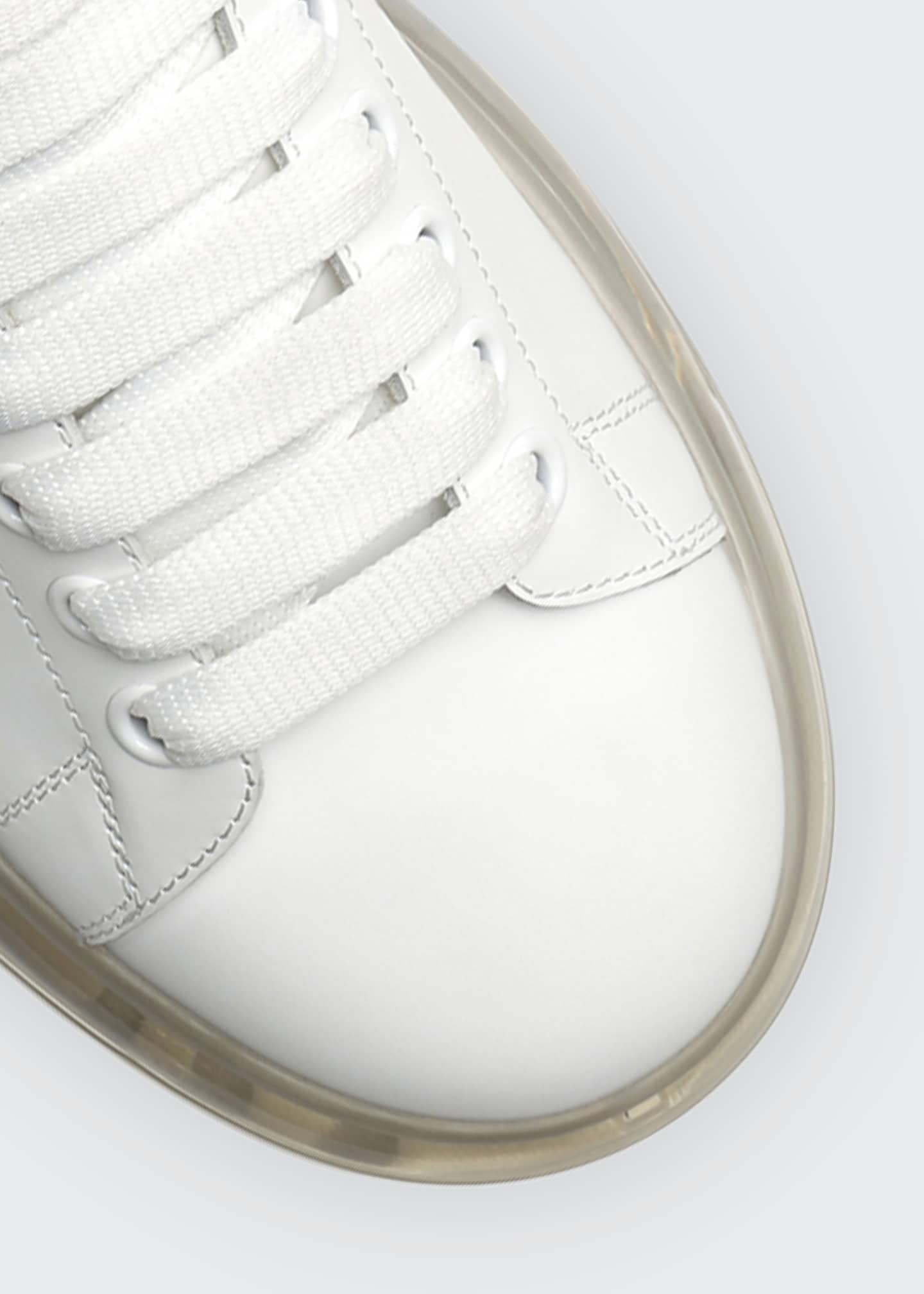 Image 3 of 3: Men's Oversized Clear-Sole Sneakers