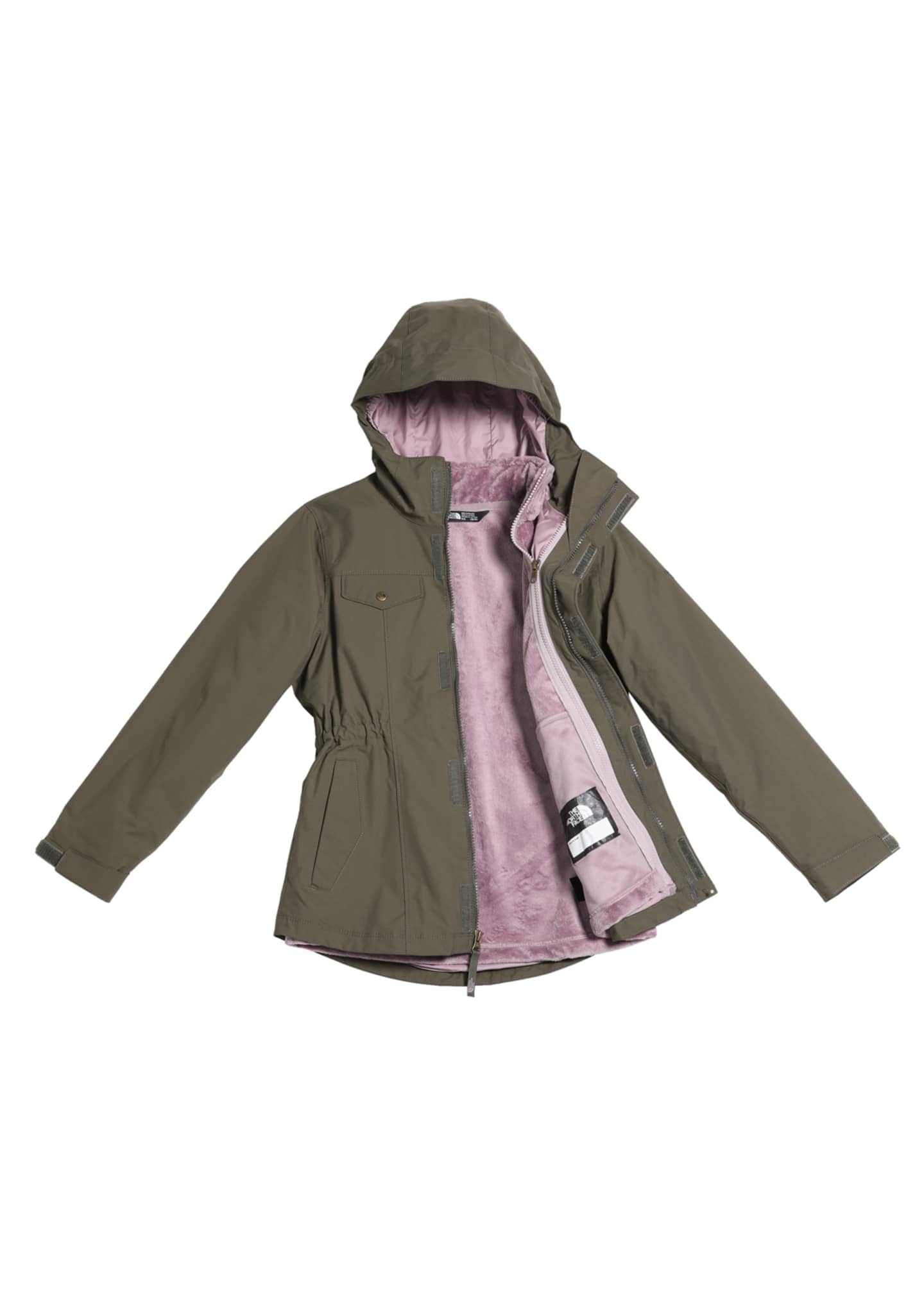 The North Face Girls' Osolita Triclimate Jacket, Size