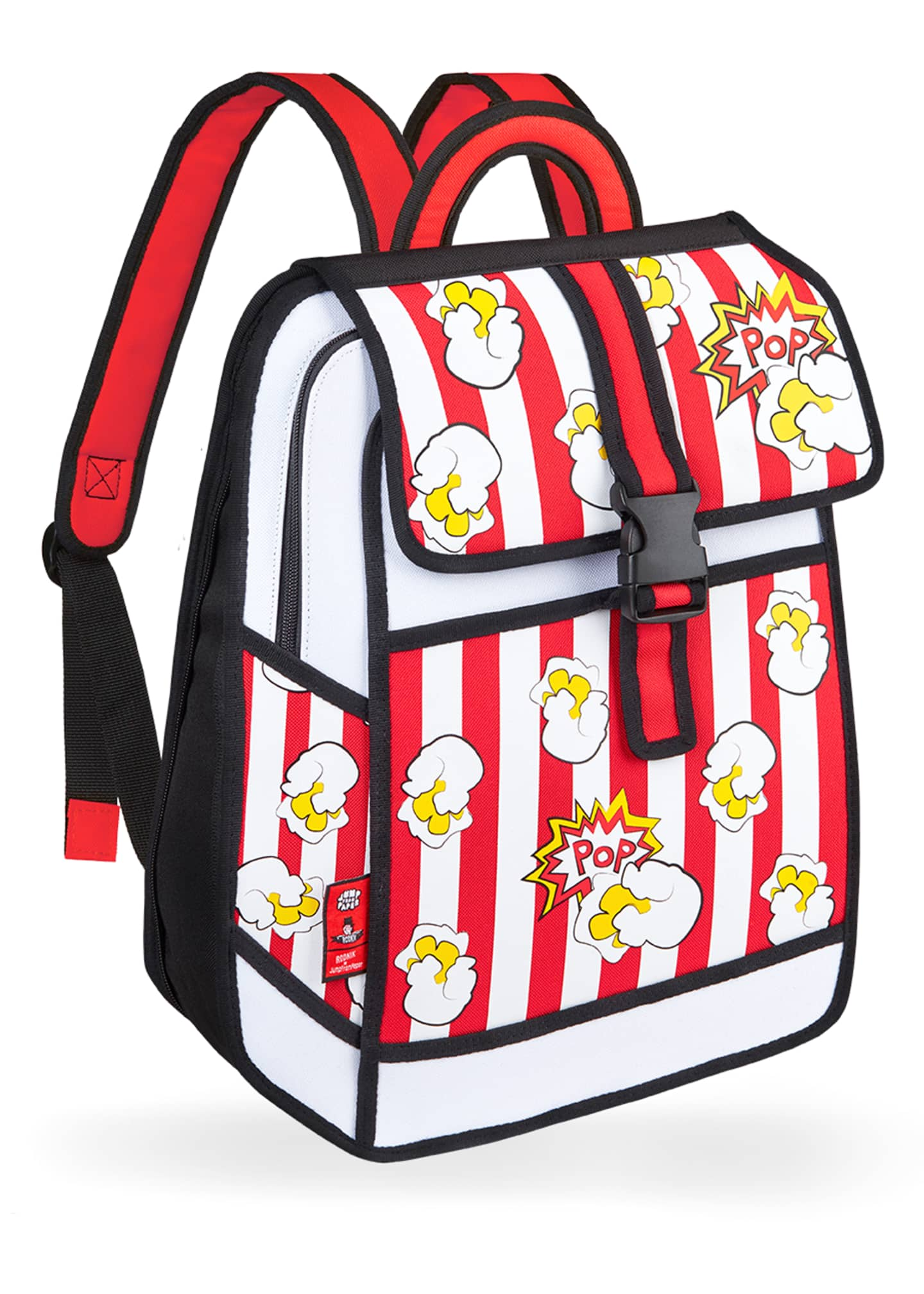 Jump from Paper Kid's Pop Art Popcorn Backpack