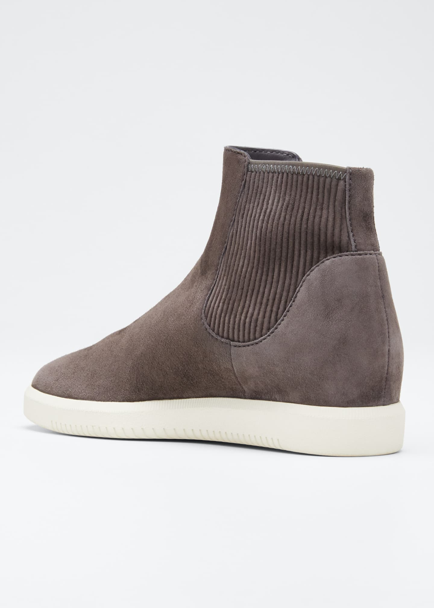 Image 2 of 3: Ilona Suede High-Top Sneakers