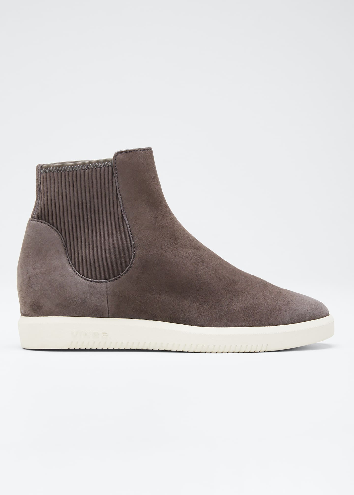 Image 1 of 3: Ilona Suede High-Top Sneakers