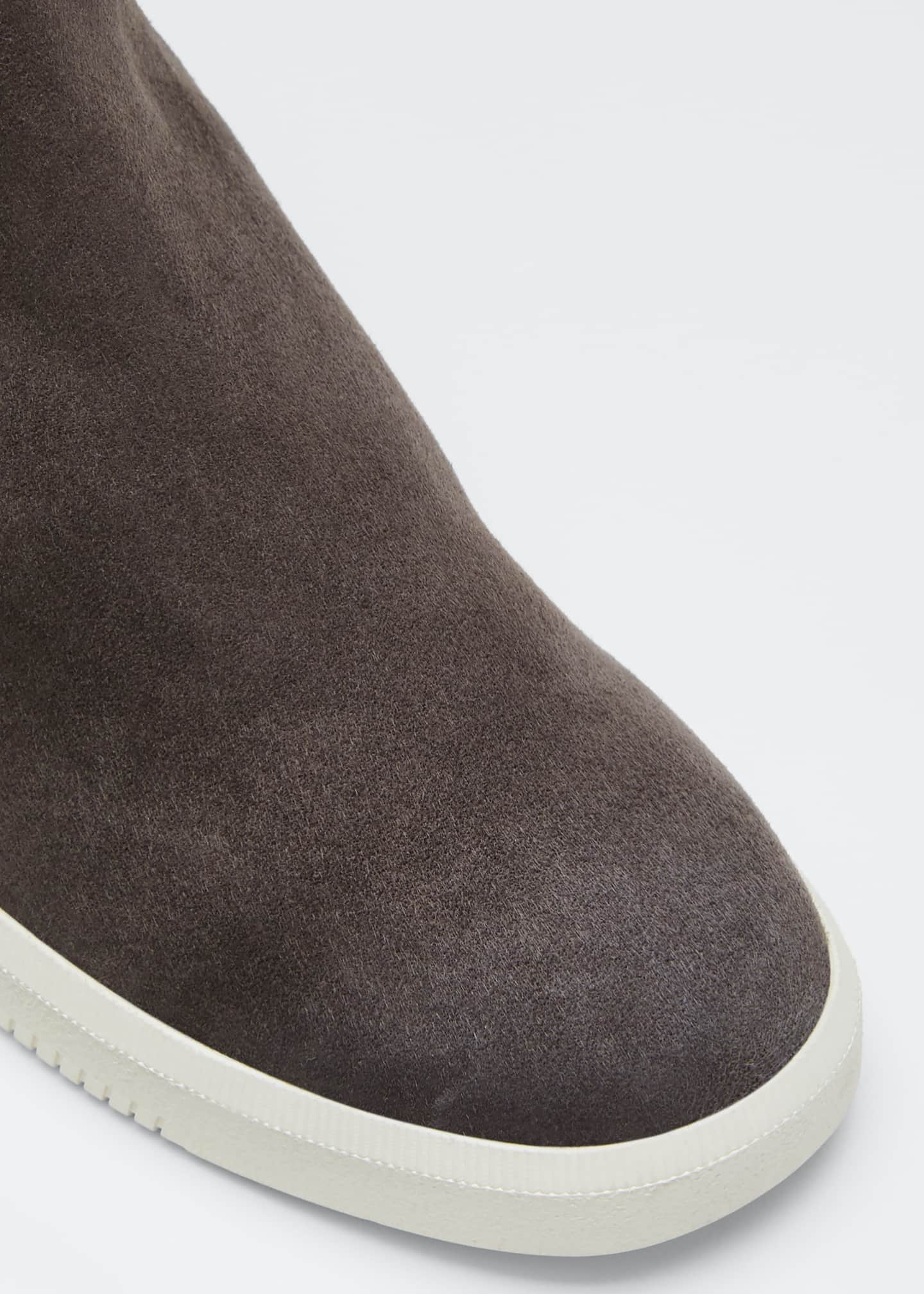 Image 3 of 3: Ilona Suede High-Top Sneakers